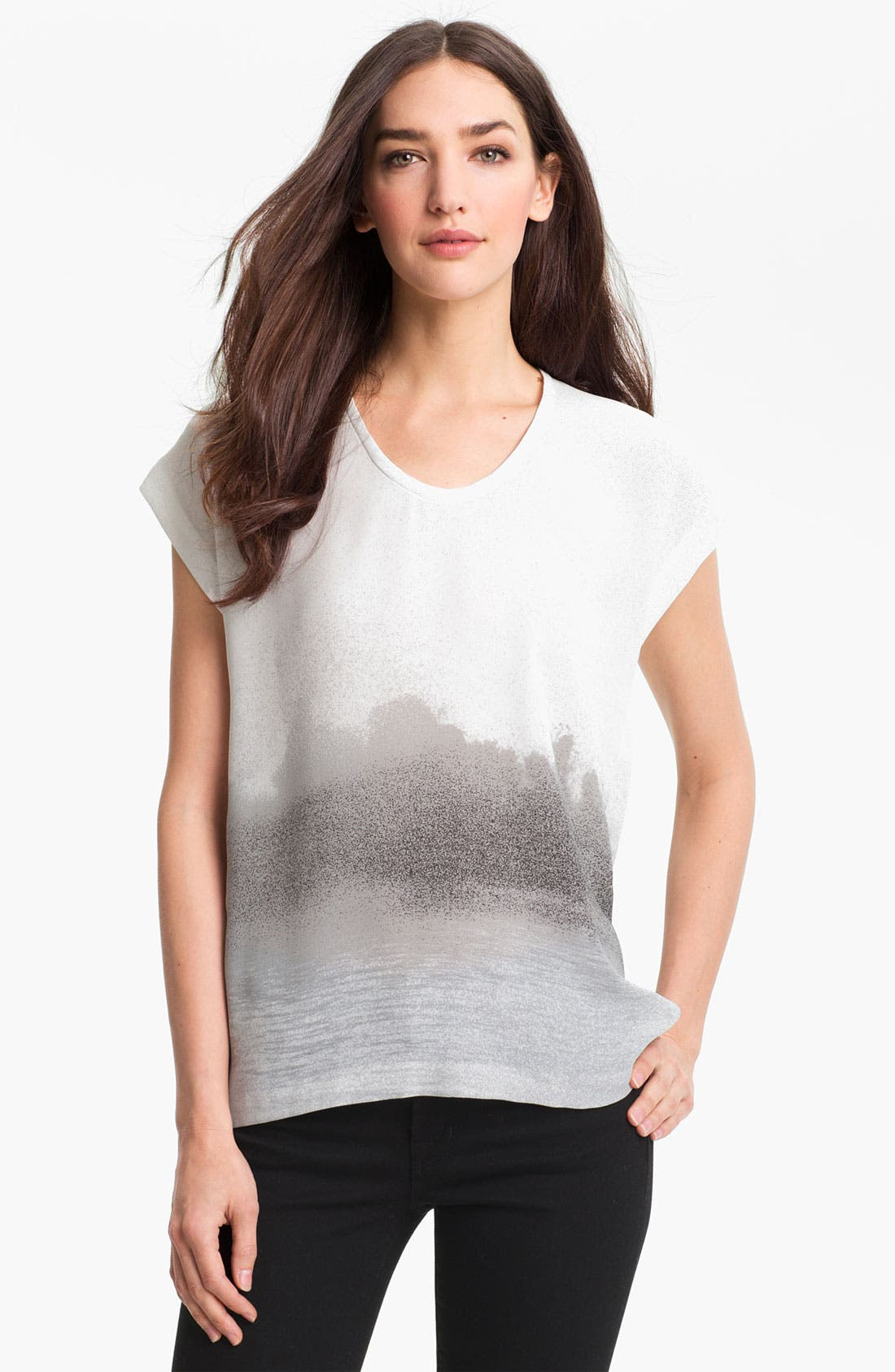 Alternate Image 1 Selected - Diane von Furstenberg 'Acedia' Print Tee