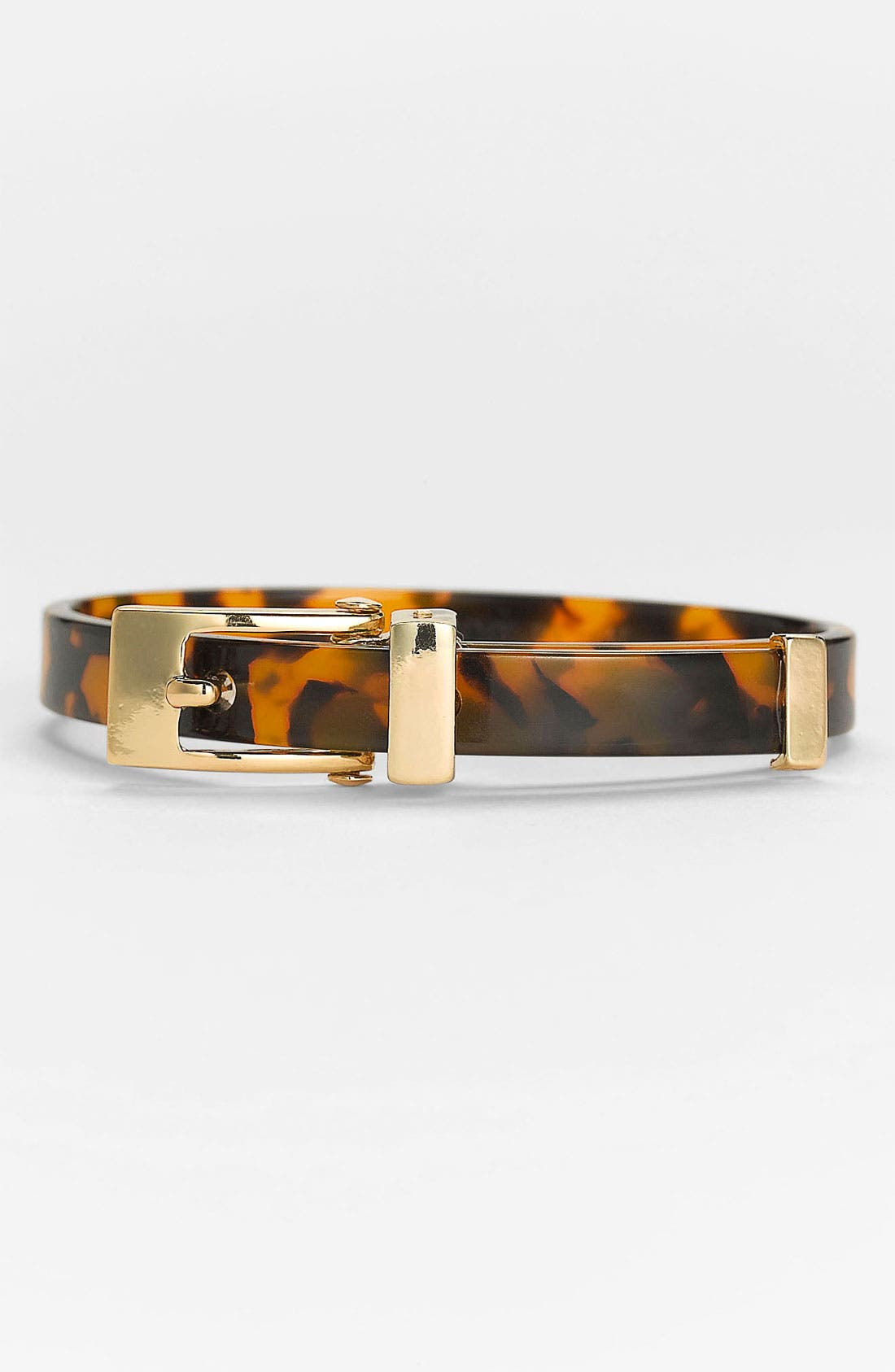 Alternate Image 1 Selected - Anne Klein Buckle Bangle