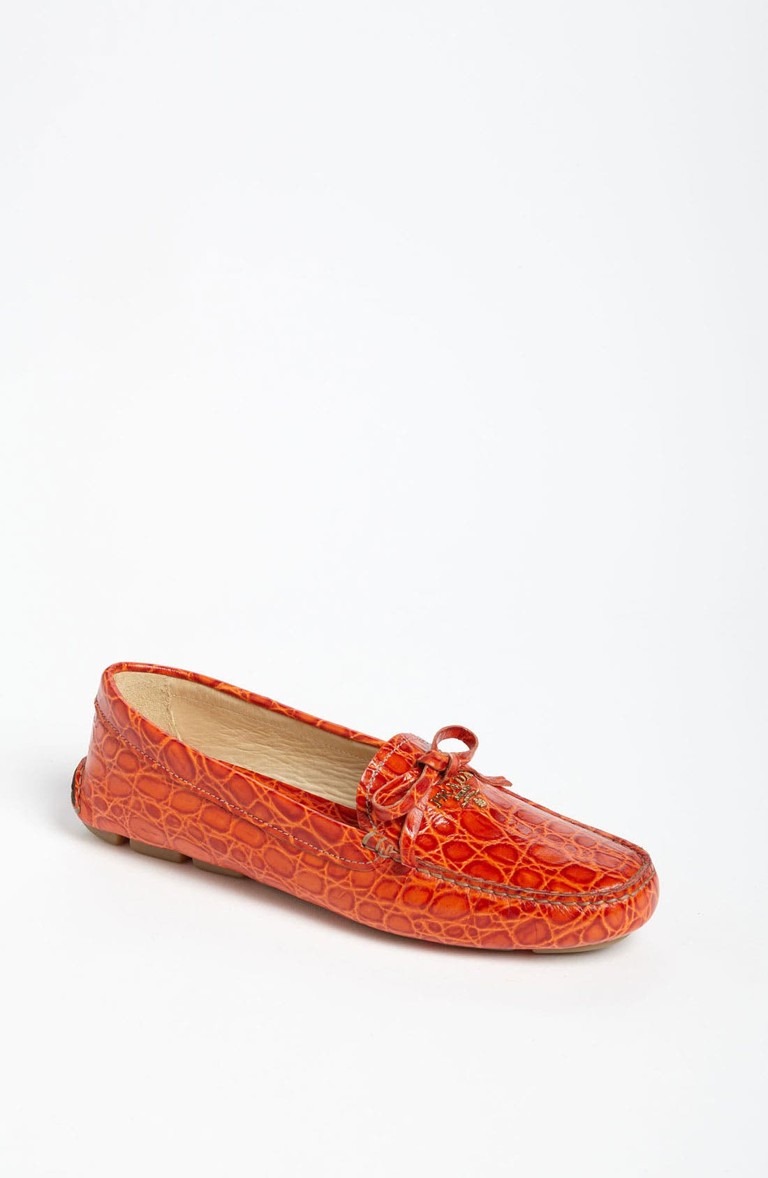 Alternate Image 1 Selected - Prada Moccasin Driver