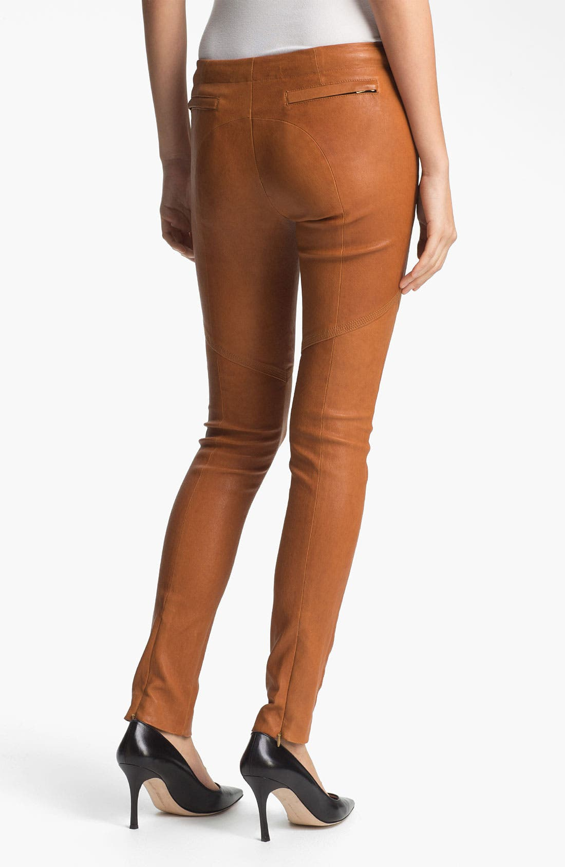 Alternate Image 2  - A.L.C. Leather Pants