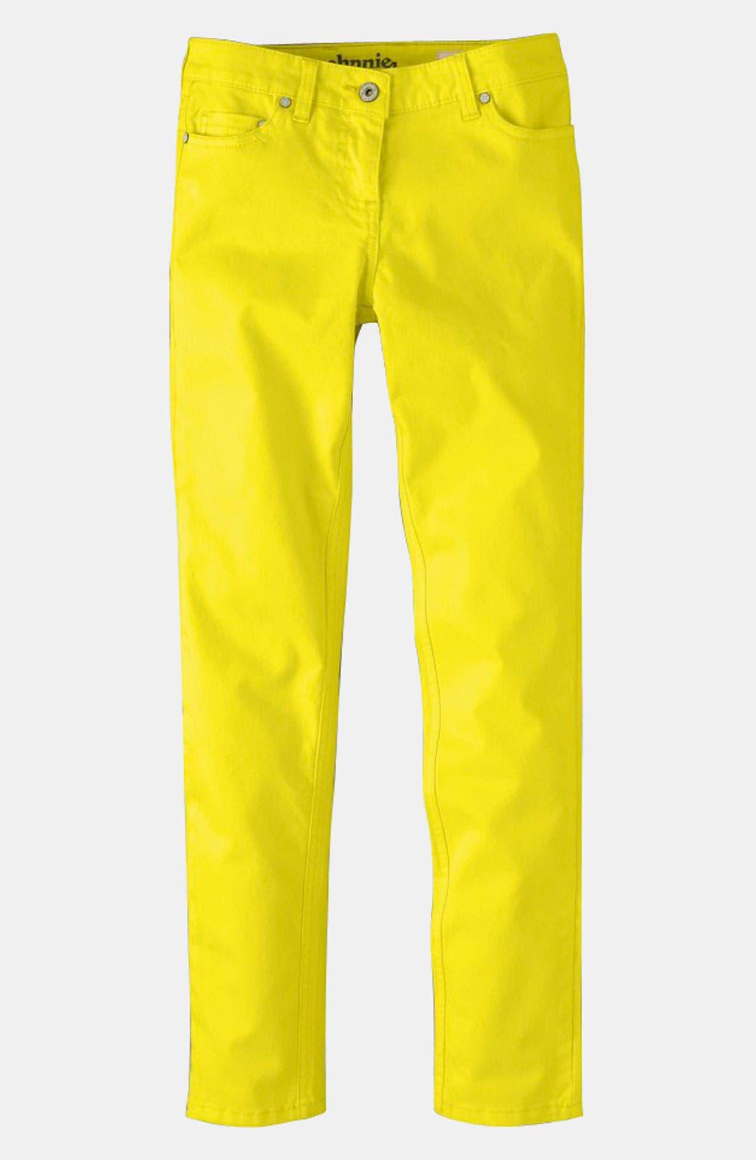 Alternate Image 1 Selected - Johnnie b Skinny Jeans (Big Girls)
