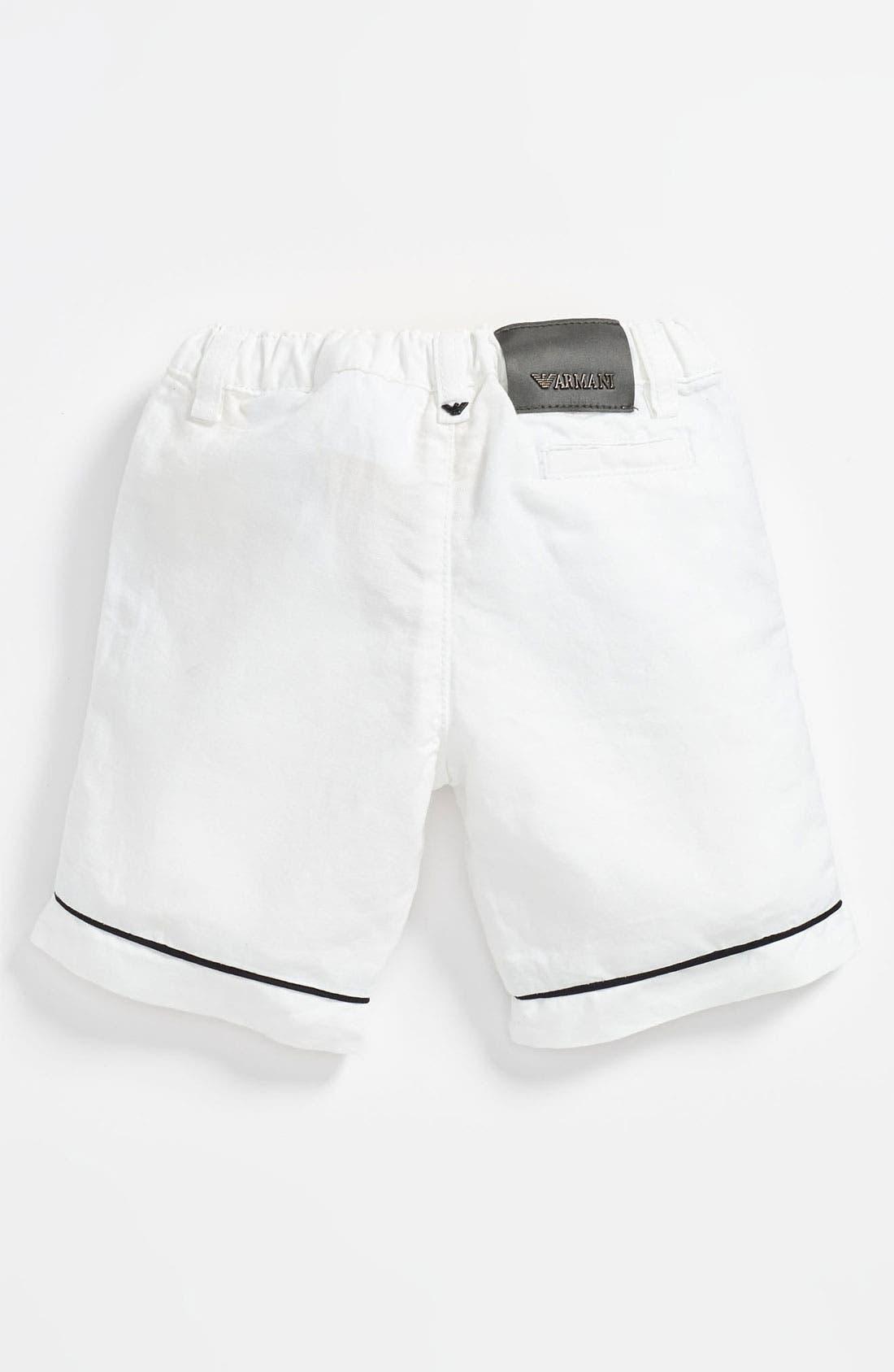 Alternate Image 2  - Armani Junior Shorts (Toddler)