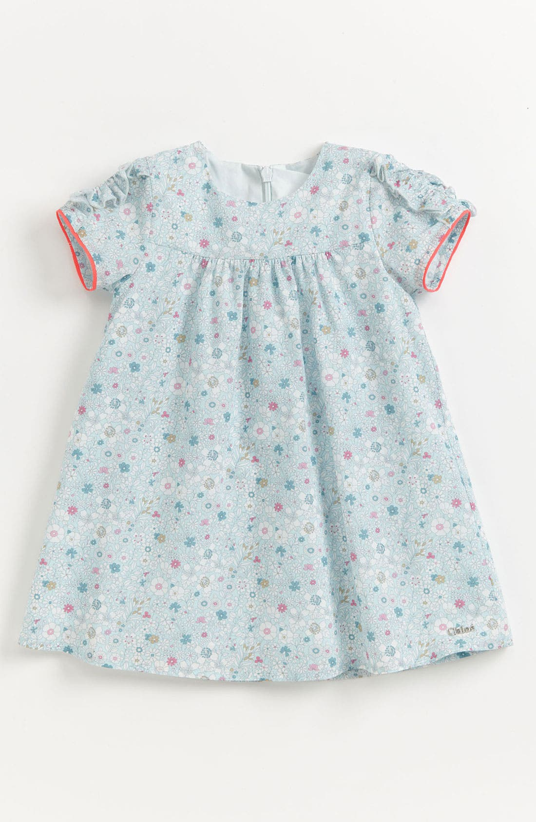 Main Image - Chloé 'Liberty Print' Floral Dress (Toddler)