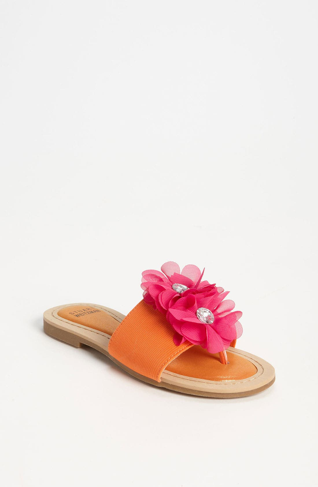 Alternate Image 1 Selected - Stuart Weitzman 'Rosewater' Sandal (Toddler, Little Kid & Big Kid)