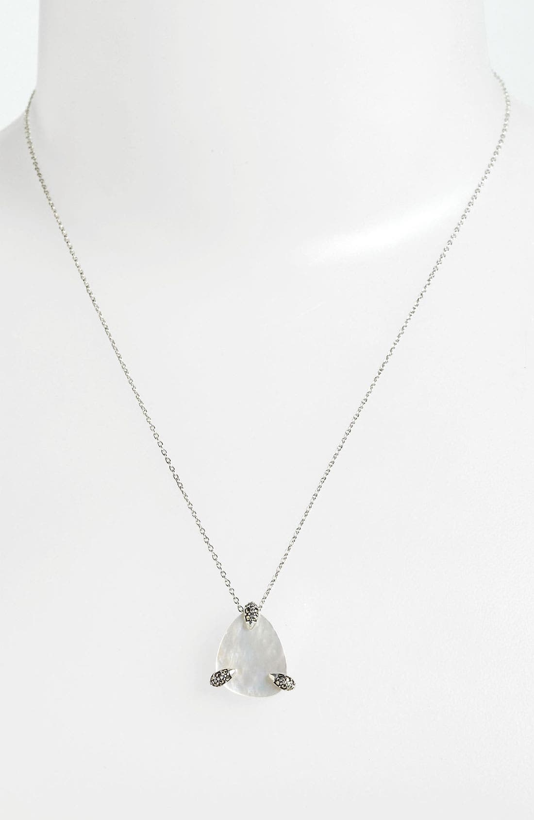 Alternate Image 1 Selected - Judith Jack Small Pendant Necklace