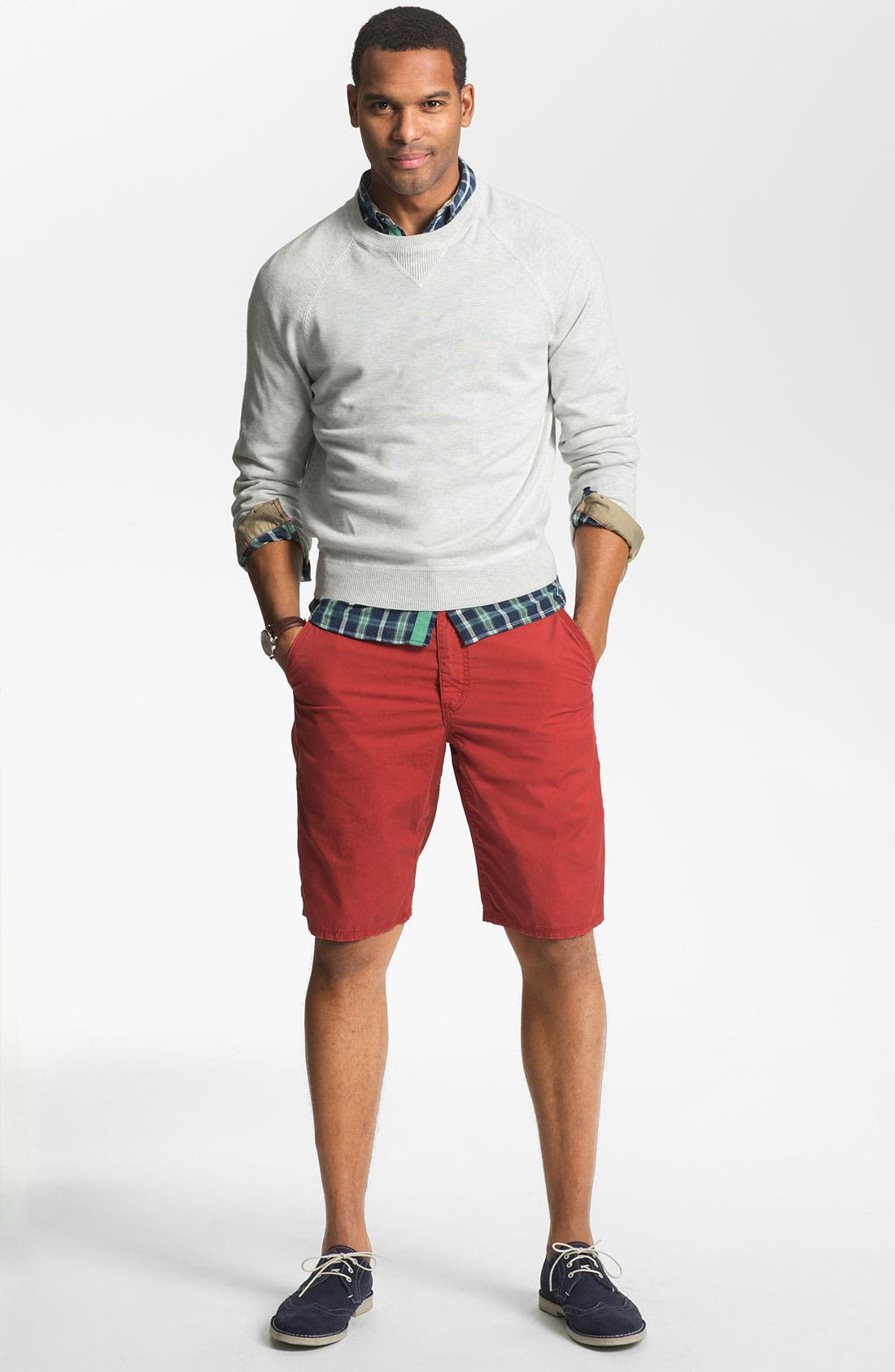 Alternate Image 4  - Brooks Brothers Raglan Sweater