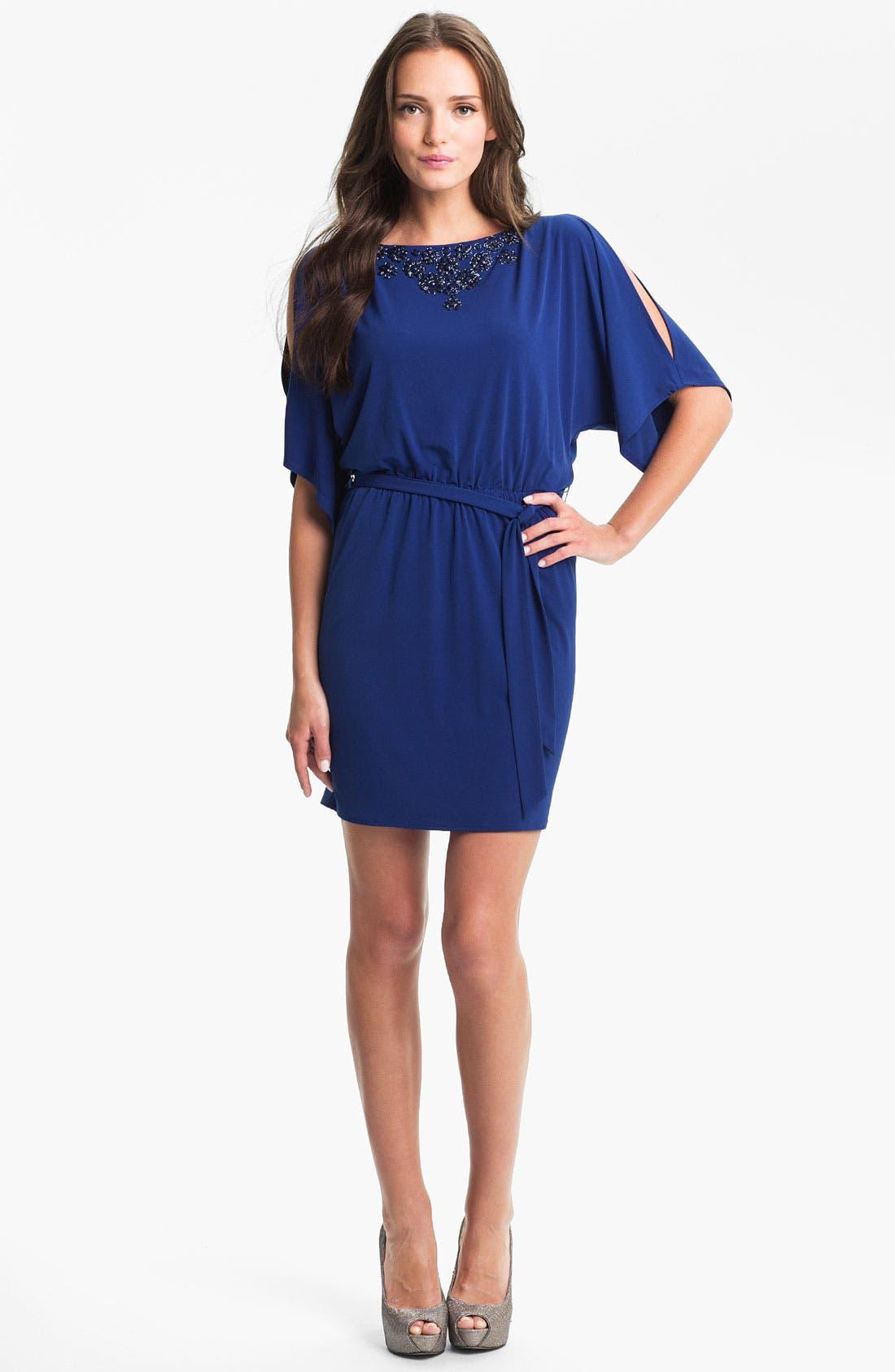Alternate Image 1 Selected - Trina Turk 'Berenice' Beaded Blouson Dress