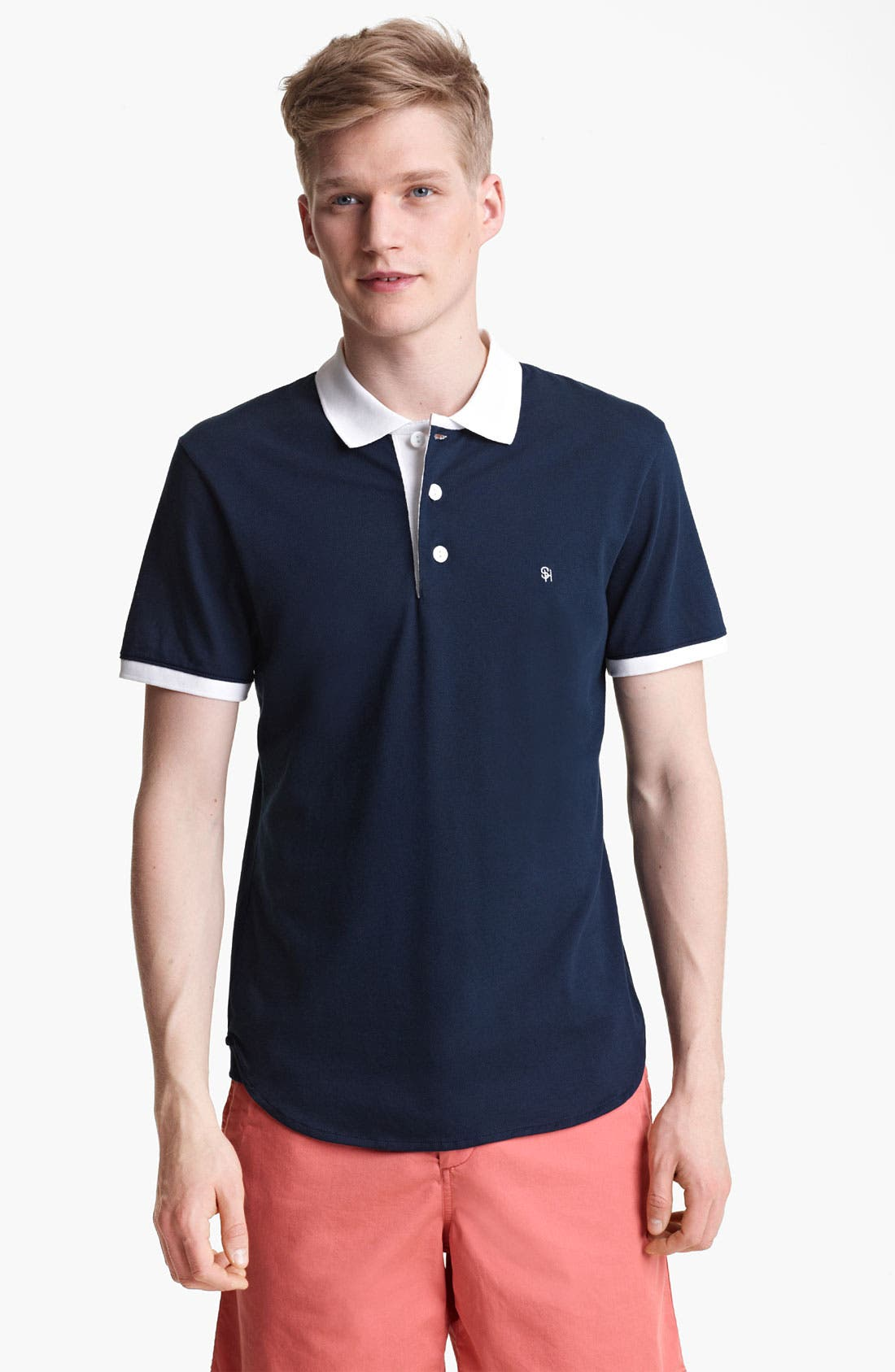 Alternate Image 1 Selected - Shipley & Halmos Piqué Polo