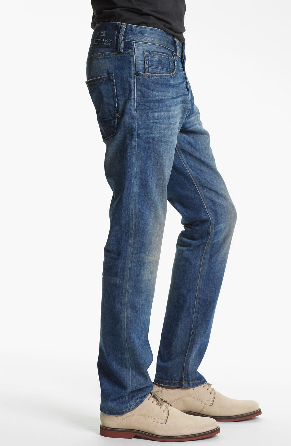 Alternate Image 3  - Scotch & Soda 'Ralston' Slim Straight Leg Jeans (Trump Town)