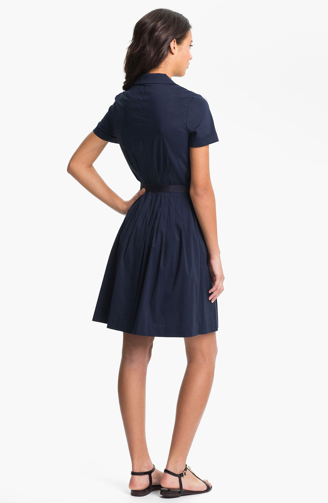 Alternate Image 2  - Tory Burch 'Janet' Cotton Blend Shirtdress