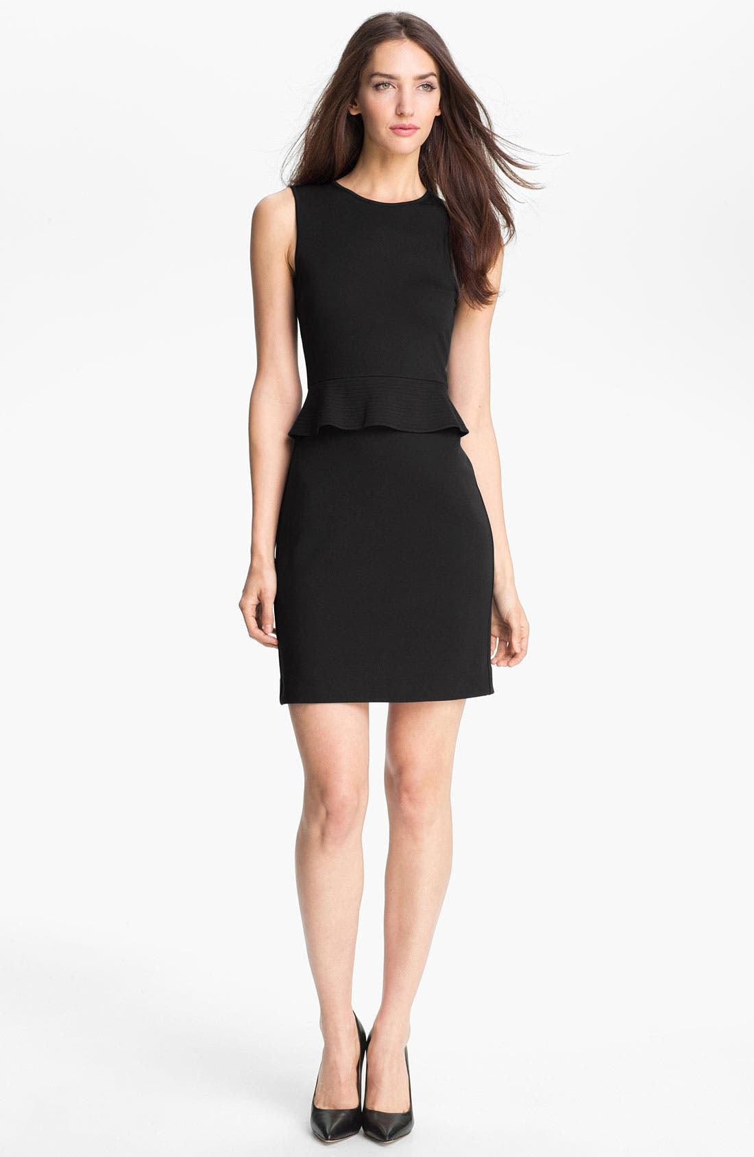 Main Image - Theory 'Dellera' Stretch Knit Sheath Dress