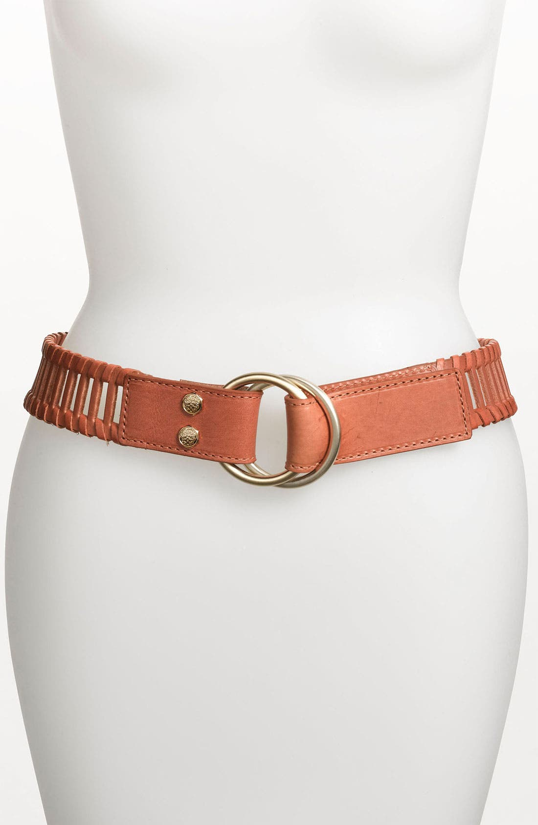 Main Image - Vince Camuto Double Pull Back Leather Belt