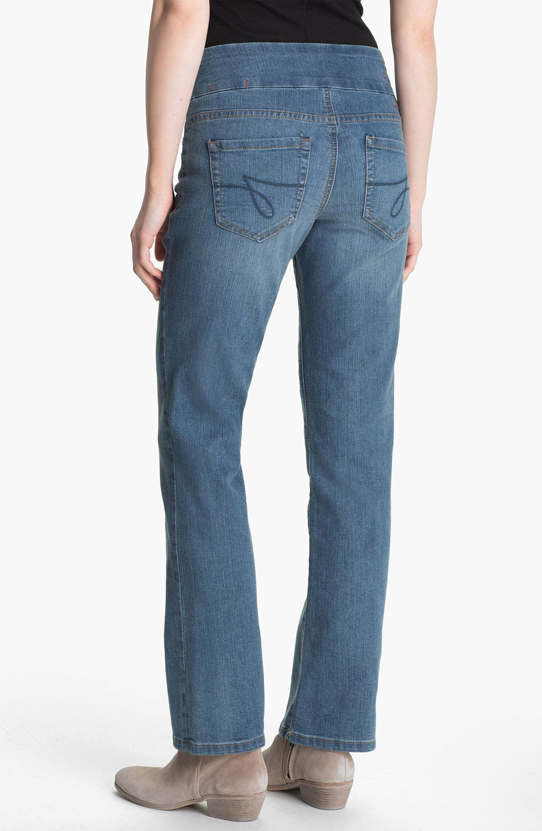 Alternate Image 3  - Jag Jeans 'Paley' Pull-On Jeans (Petite)