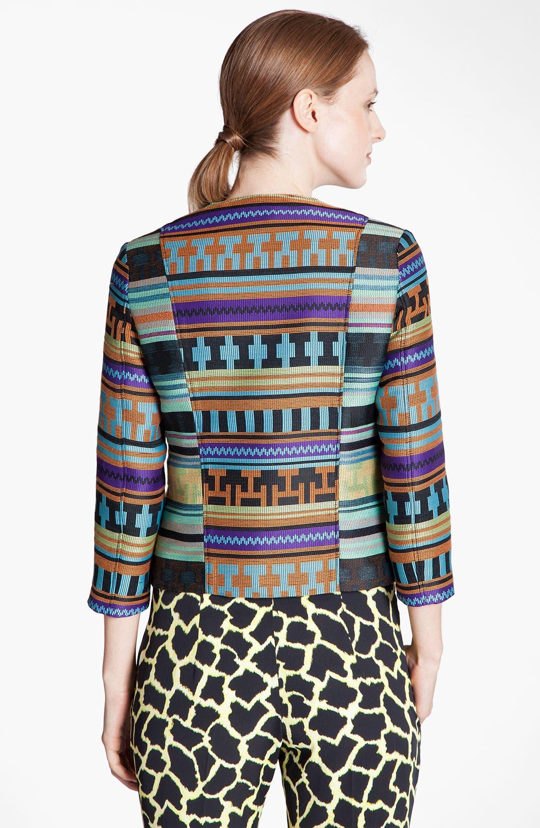 Alternate Image 3  - MSGM Ikat Print Jacquard Jacket