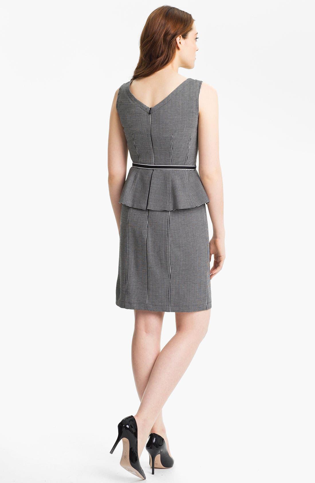 Alternate Image 2  - Nanette Lepore 'Desert' Stripe Sheath Dress