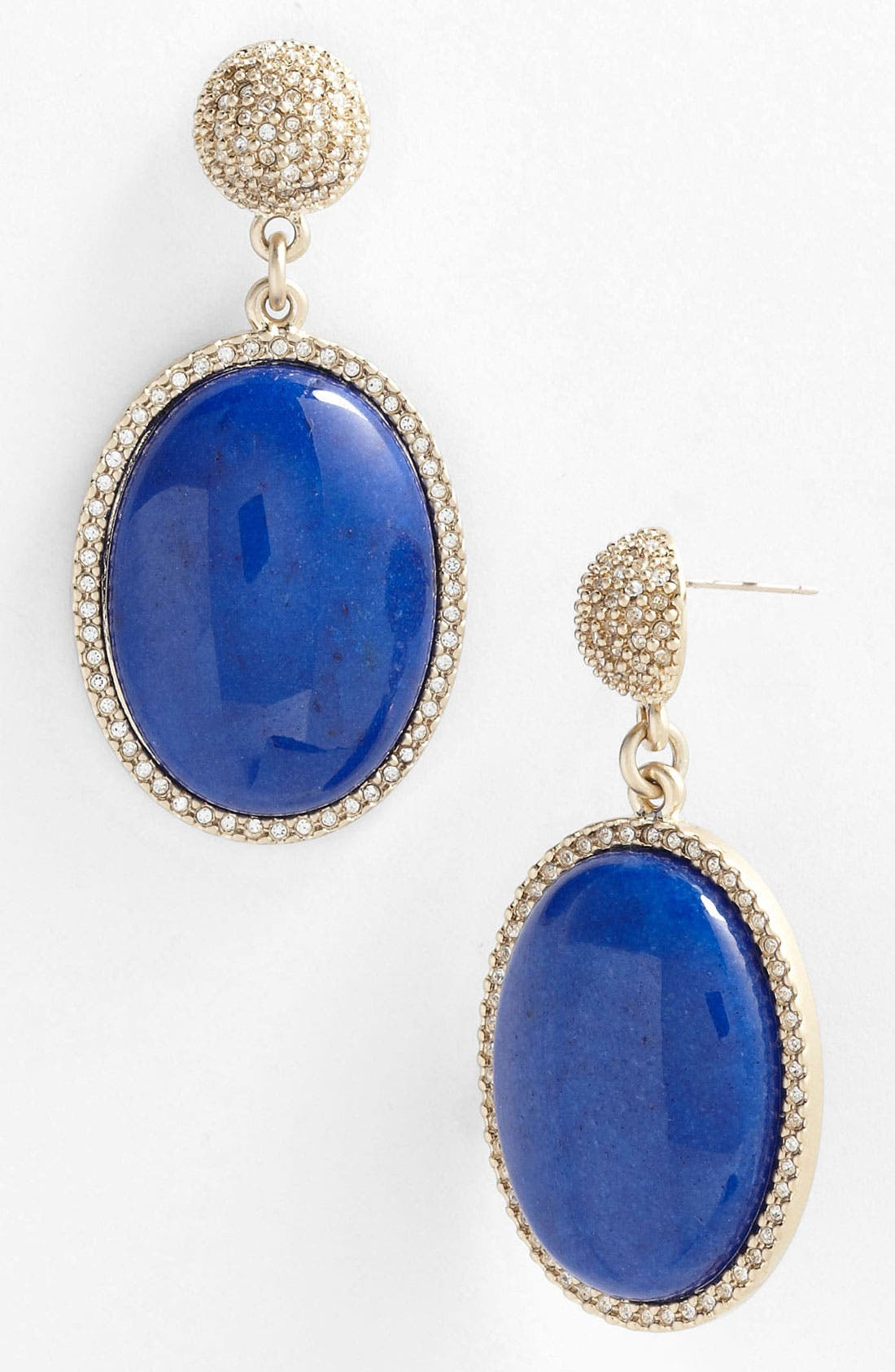 Main Image - St. John Collection Dyed Quartz Drop Earrings