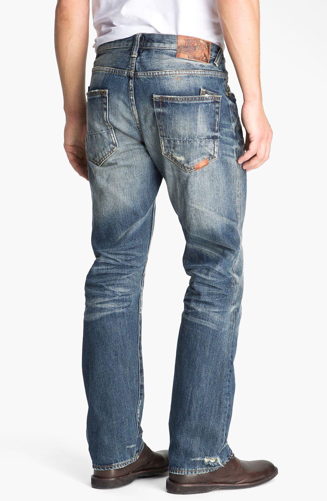 Alternate Image 1 Selected - PRPS 'Leap Frog' Straight Leg Jeans (Light Bone)