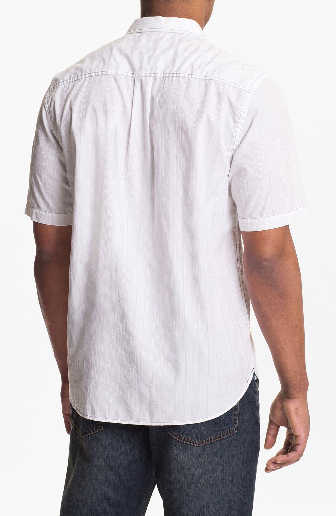 Alternate Image 2  - Tommy Bahama Denim 'Dobby Blanco' Sport Shirt