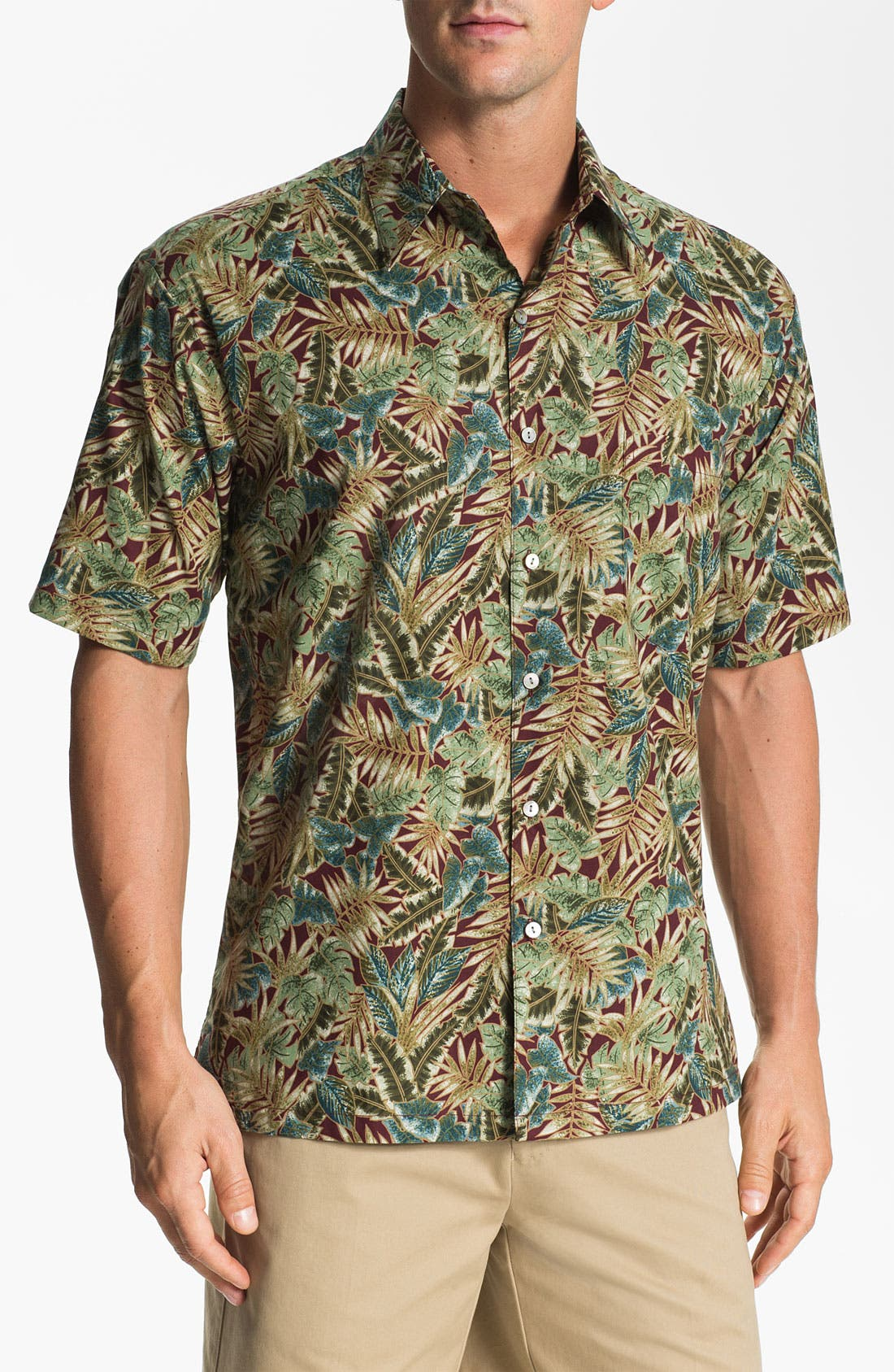 Alternate Image 1 Selected - Tori Richard 'Leafthology' Sport Shirt