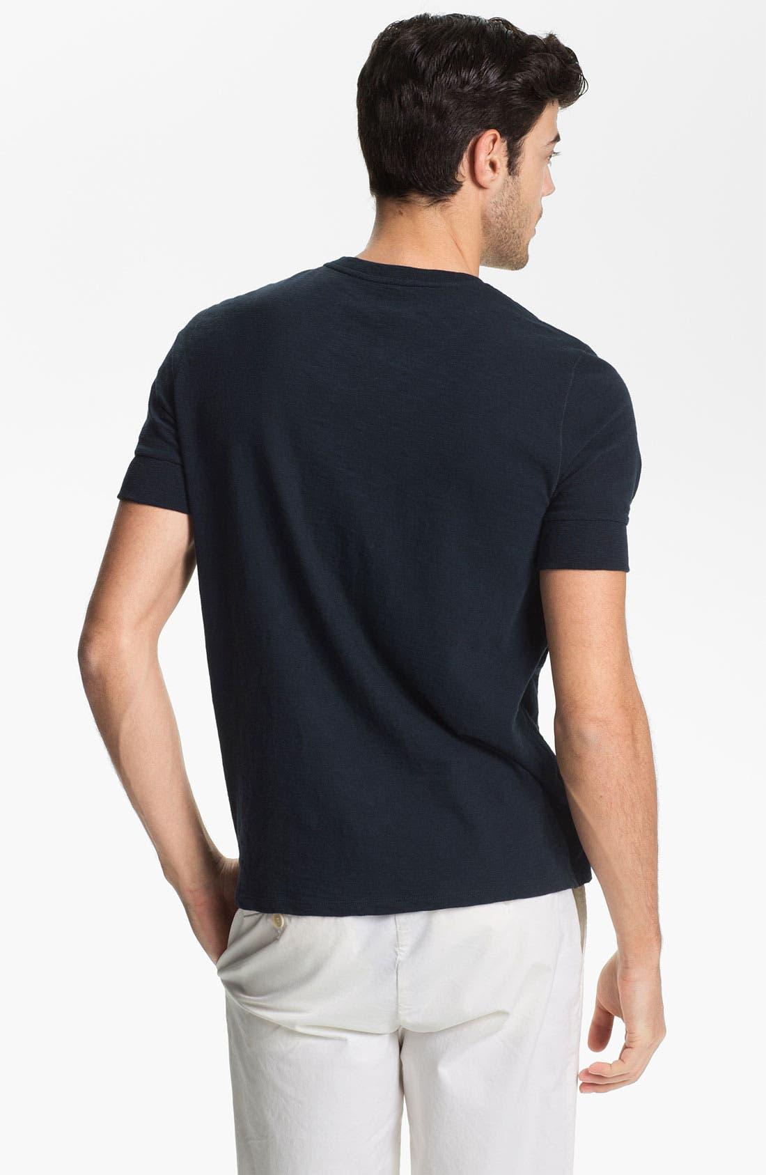 Alternate Image 2  - Vince Slubbed Cotton Henley T-Shirt
