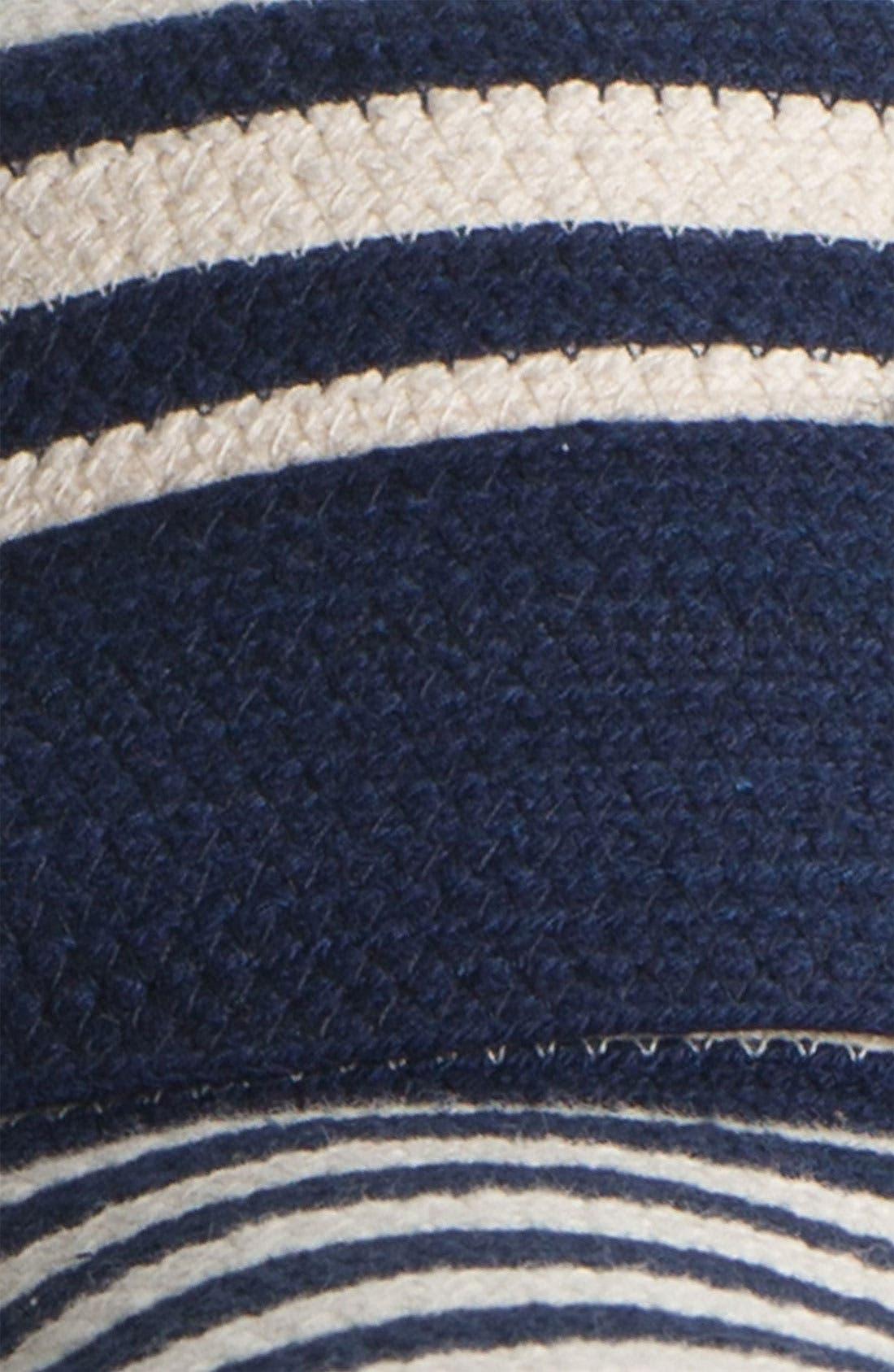 Alternate Image 2  - kate spade new york stripe sun hat