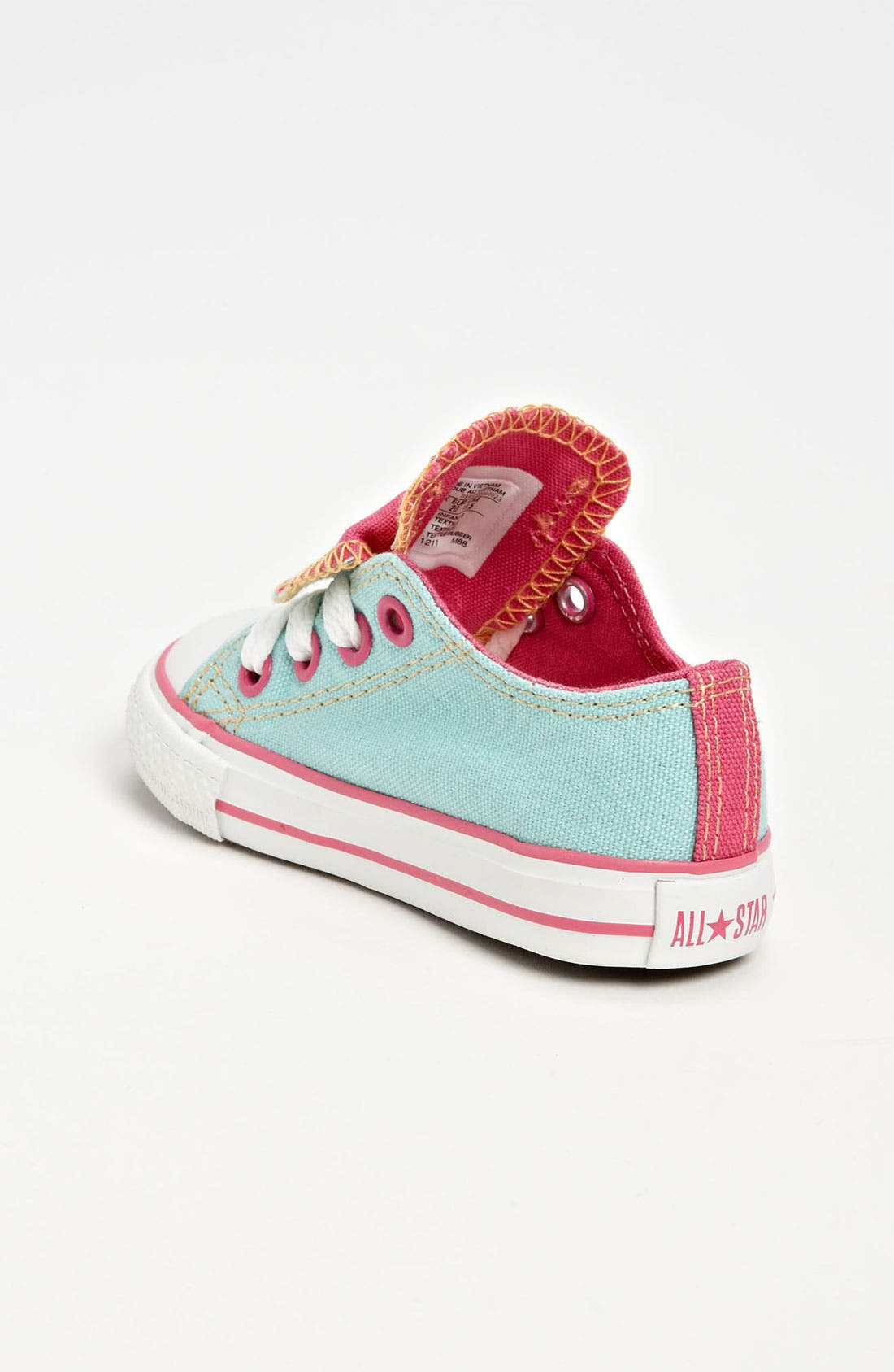 Alternate Image 2  - Converse Chuck Taylor® Double Tongue Sneaker (Baby, Walker & Toddler)