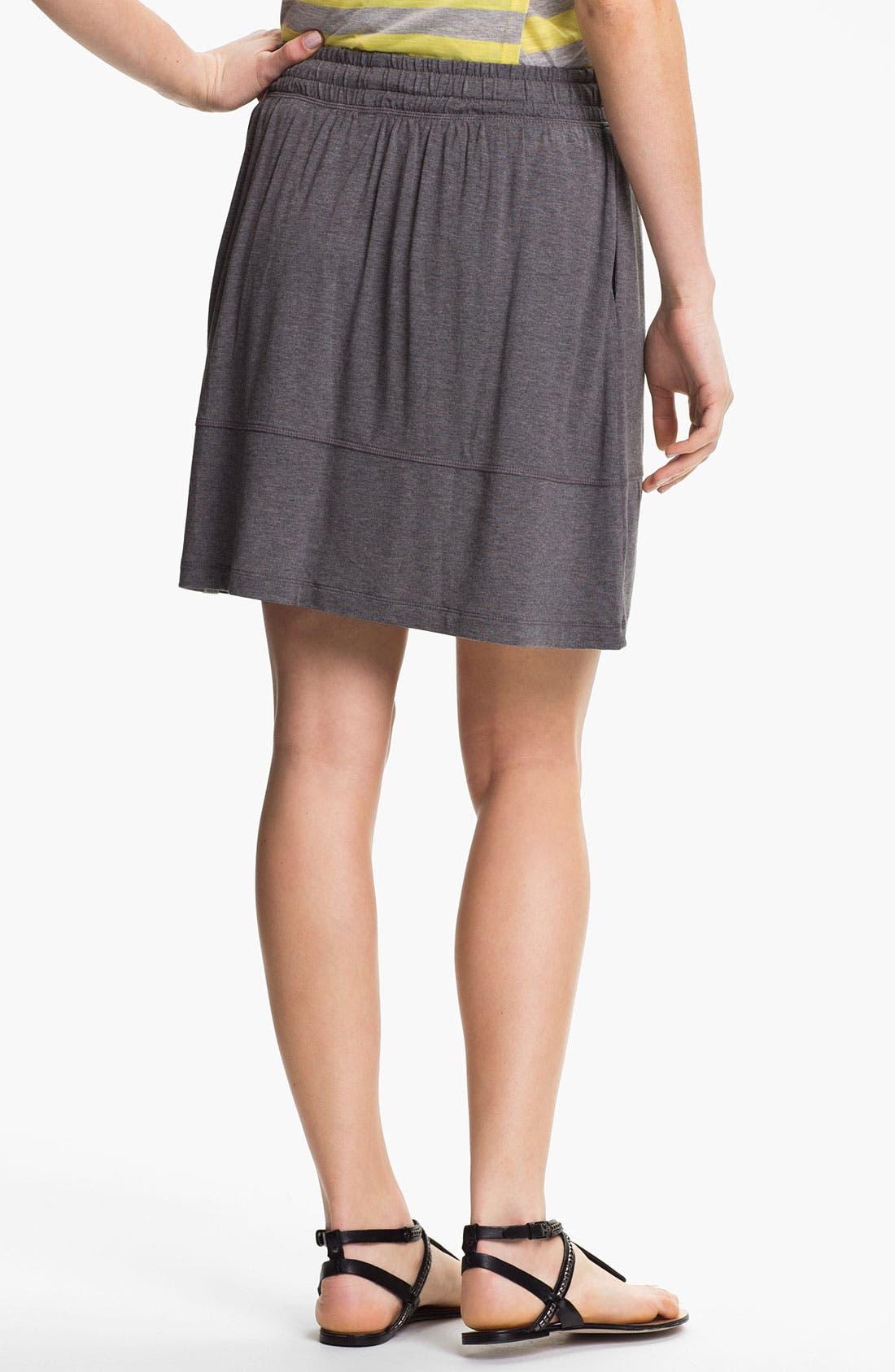Alternate Image 2  - Caslon Drawstring Short Skirt