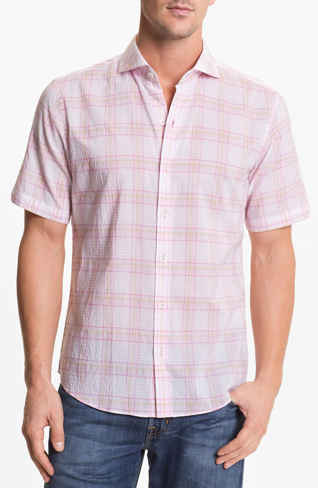 Alternate Image 1 Selected - Zachary Prell 'Reekie' Sport Shirt
