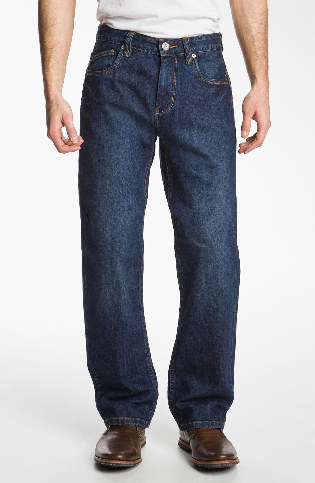 Alternate Image 1 Selected - Tommy Bahama Denim 'Steve Standard Fit' Jeans (Resin)