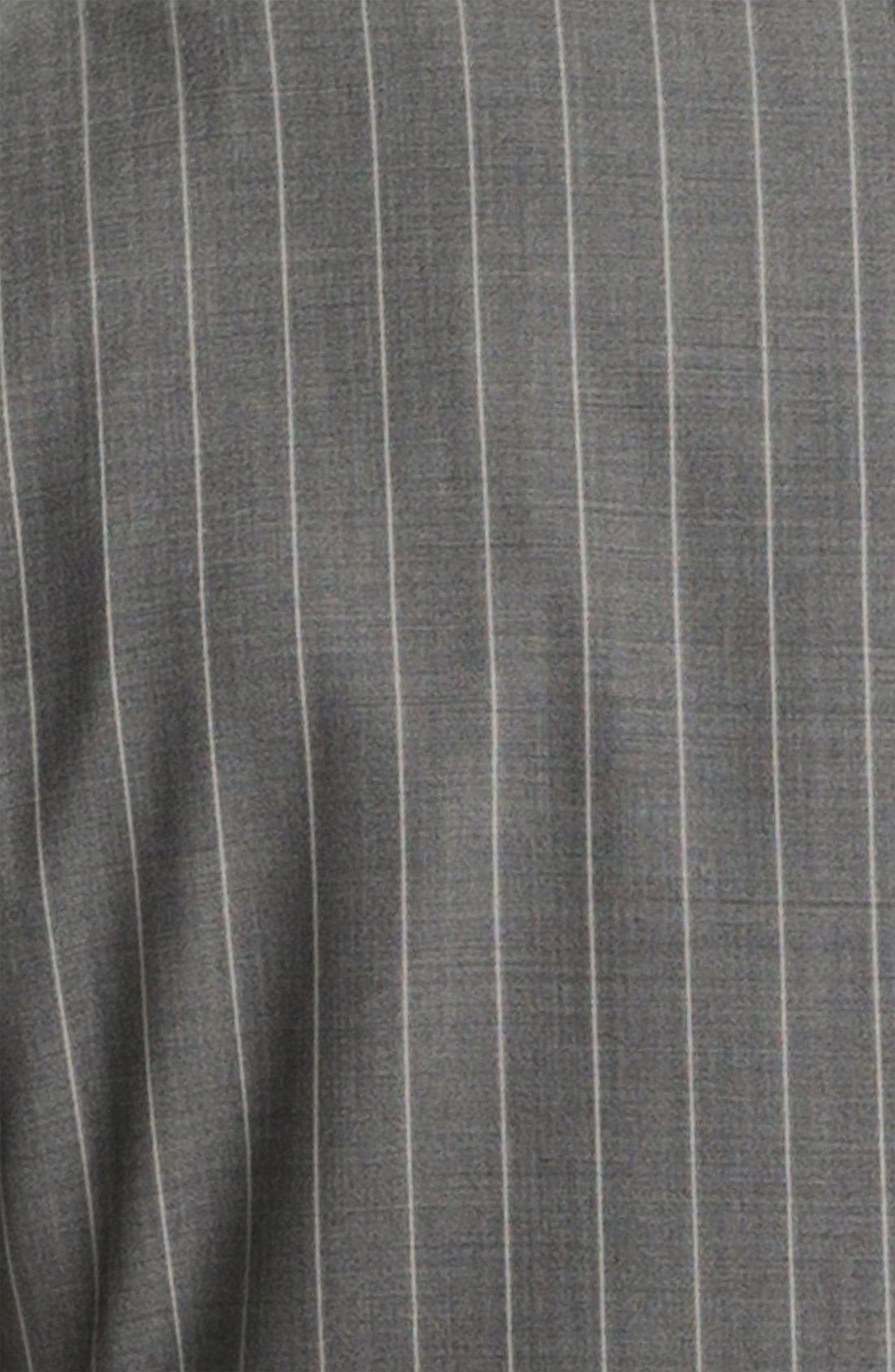 Alternate Image 6  - Canali Double Breasted Stripe Suit