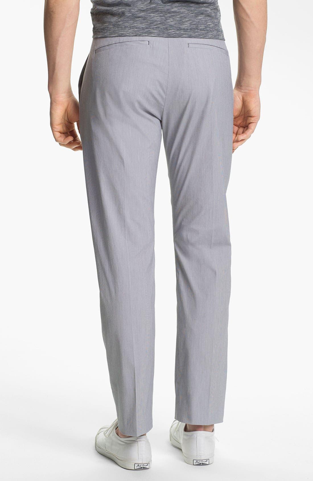 Alternate Image 2  - Theory 'Jake W Shirwin' Slim Flat Front Pants