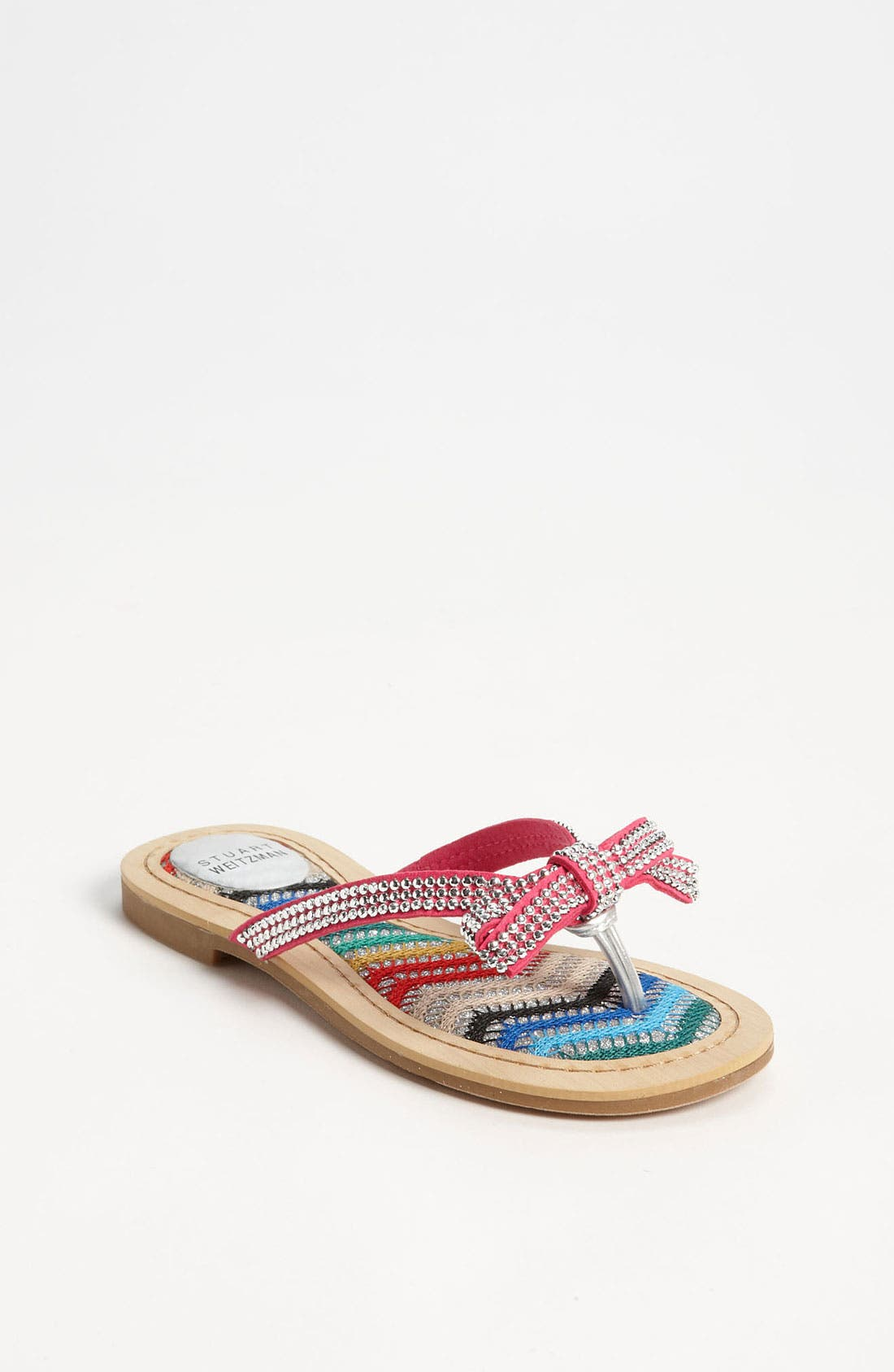 Alternate Image 1 Selected - Stuart Weitzman 'Sycamore' Sandal (Little Kid & Big Kid)