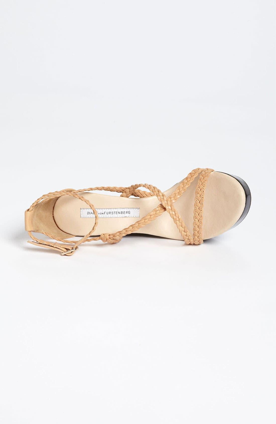 Alternate Image 3  - Diane von Furstenberg 'Olive' Wedge Sandal (Online Only)