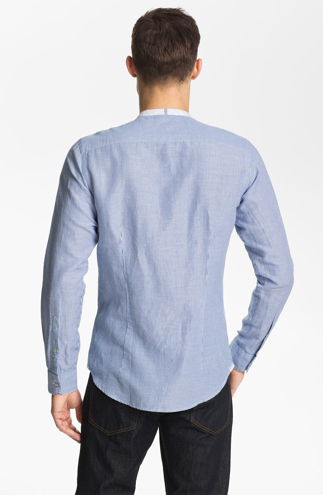 Alternate Image 2  - Zegna Sport Tapered Fit Sport Shirt