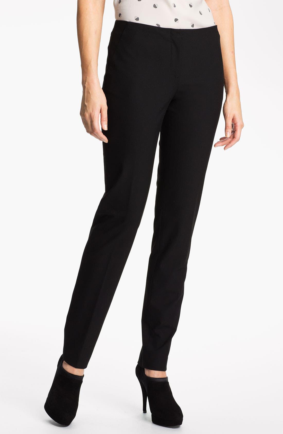 Alternate Image 1 Selected - Halogen® 'Ela Quinn' Skinny Pants (Petite)