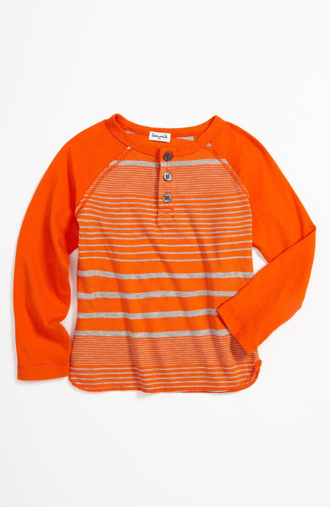 Alternate Image 1 Selected - Splendid Long Sleeve T-Shirt (Toddler)
