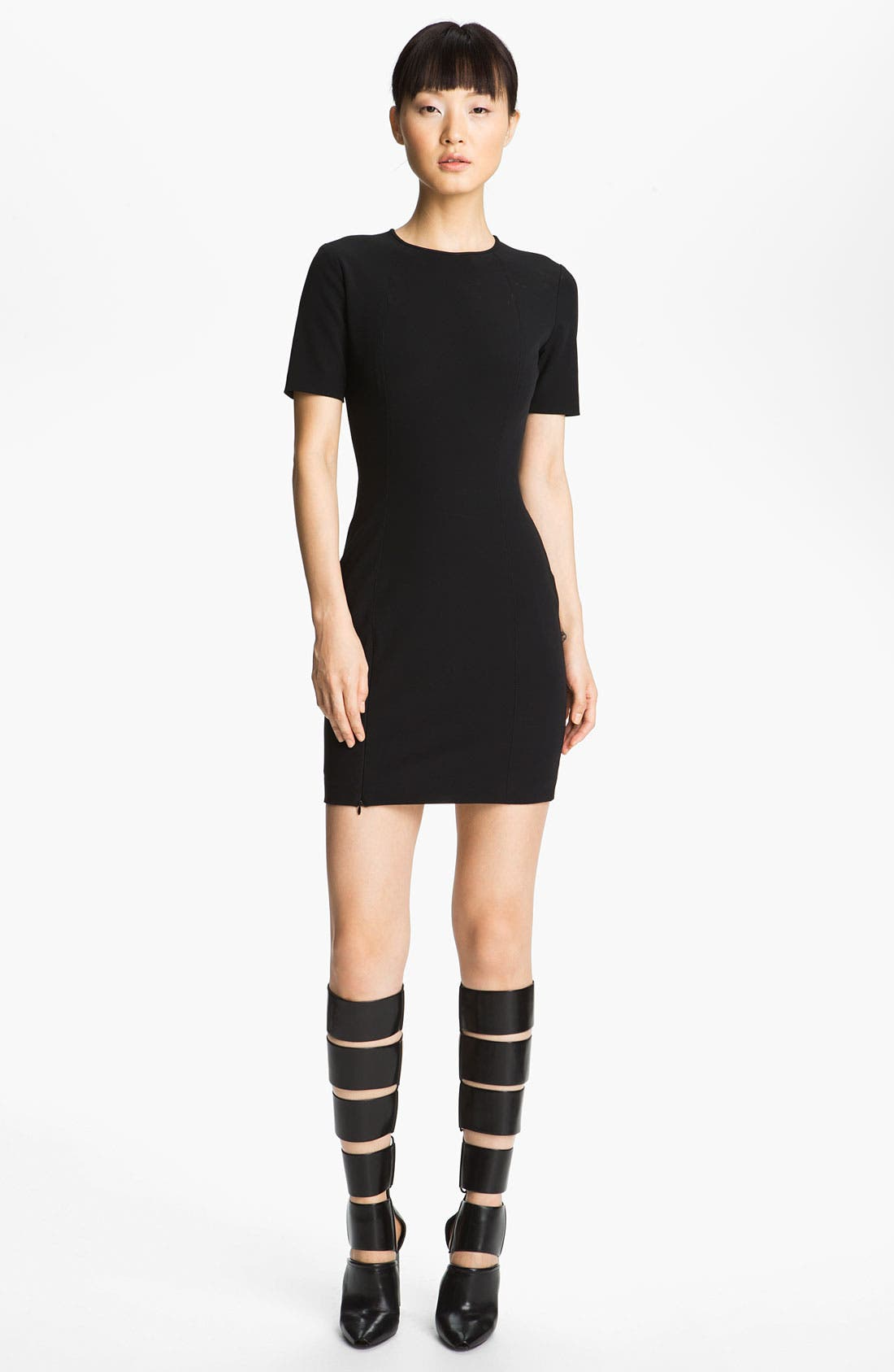 Main Image - T by Alexander Wang Fitted Tech Dress