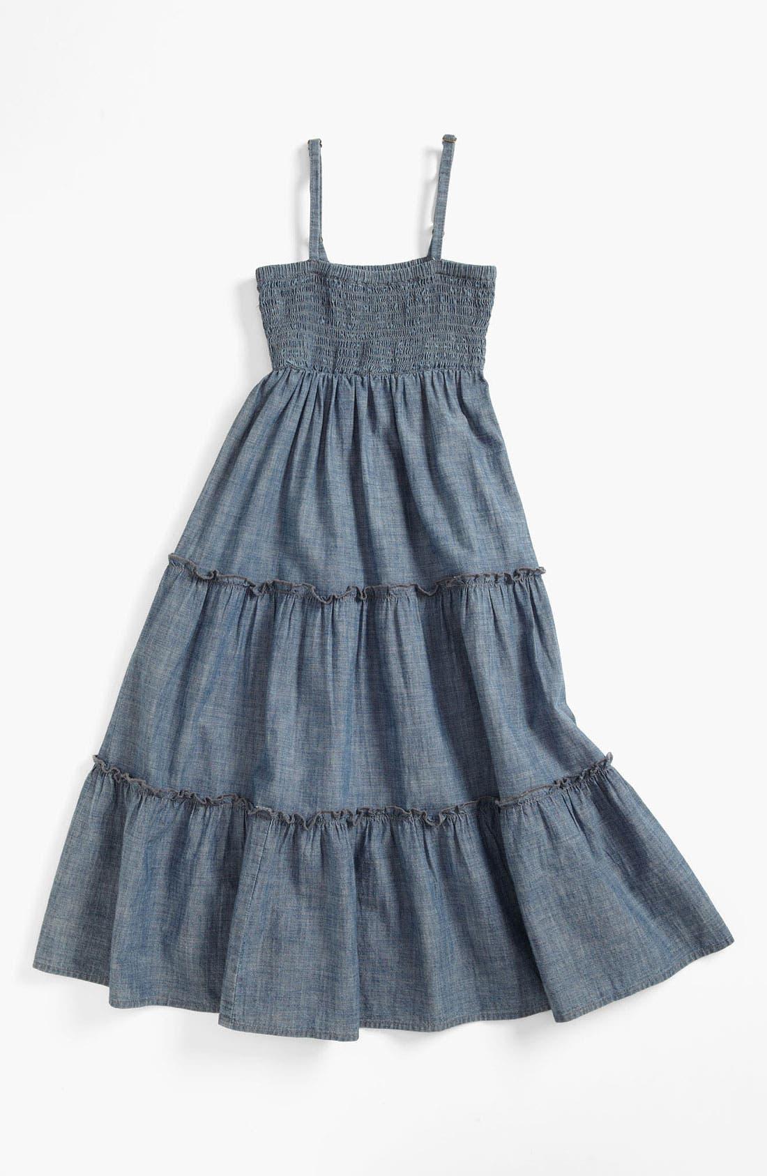 Alternate Image 1 Selected - Peek 'Emilia' Dress (Toddler, Little Girls & Big Girls)