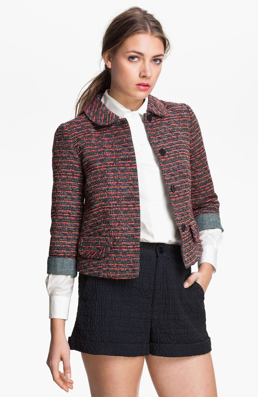 Alternate Image 1 Selected - MARC BY MARC JACOBS 'Miranda' Tweed Jacket