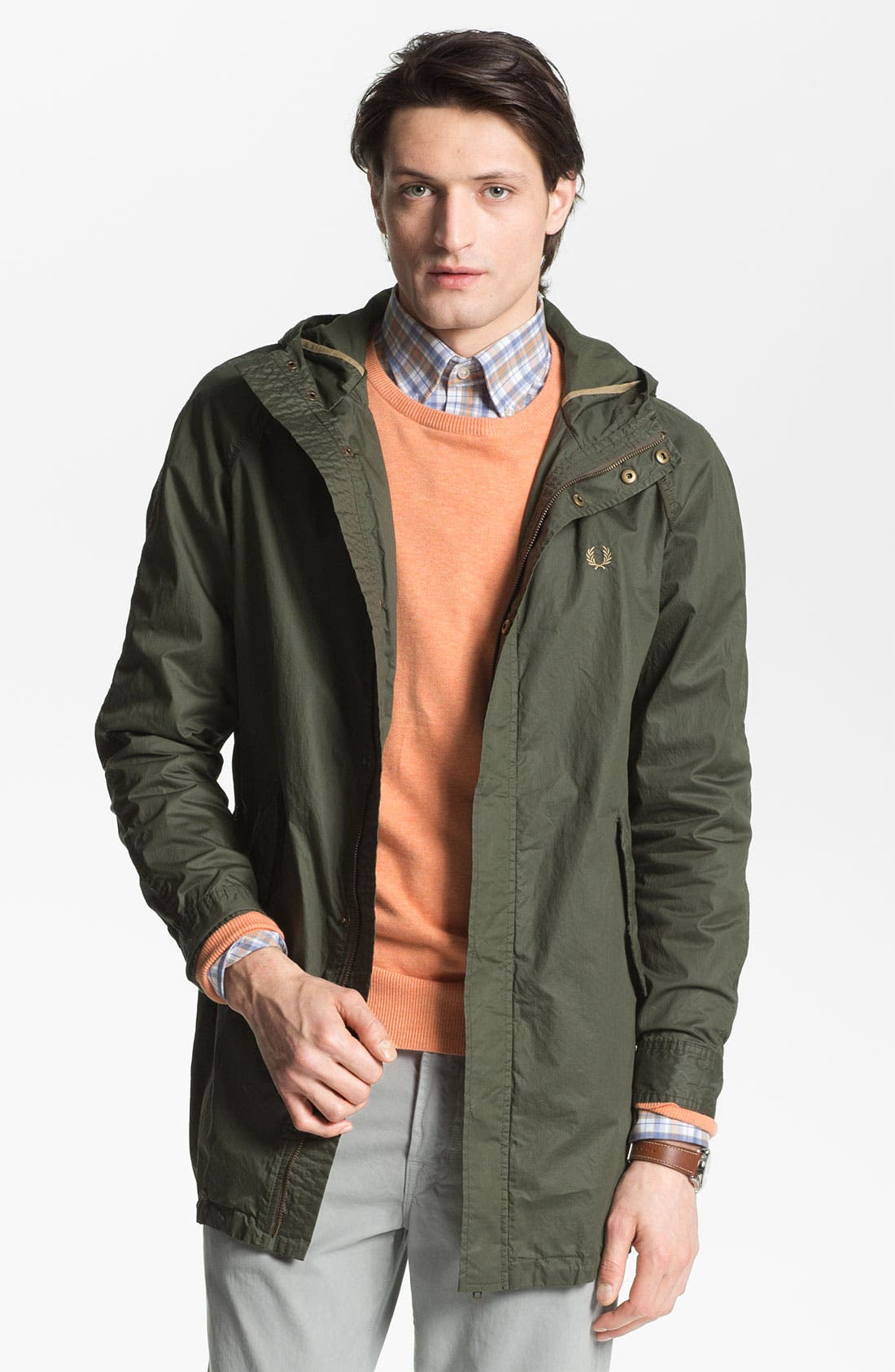 Alternate Image 1 Selected - Fred Perry Fishtail Parka