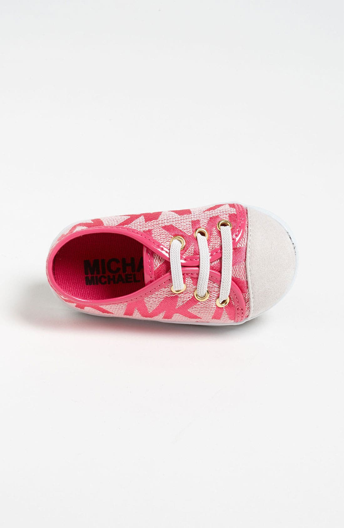 Alternate Image 3  - MICHAEL Michael Kors 'Baby Monogram' Crib Shoe (Baby)