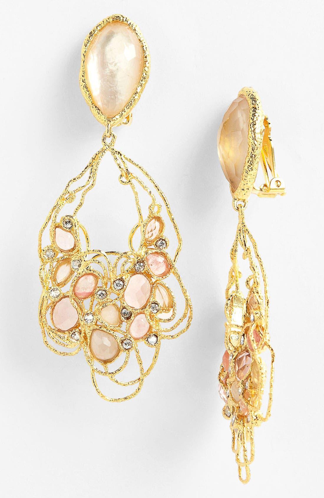 Main Image - Alexis Bittar 'Elements - Floral' Clip Drop Earrings