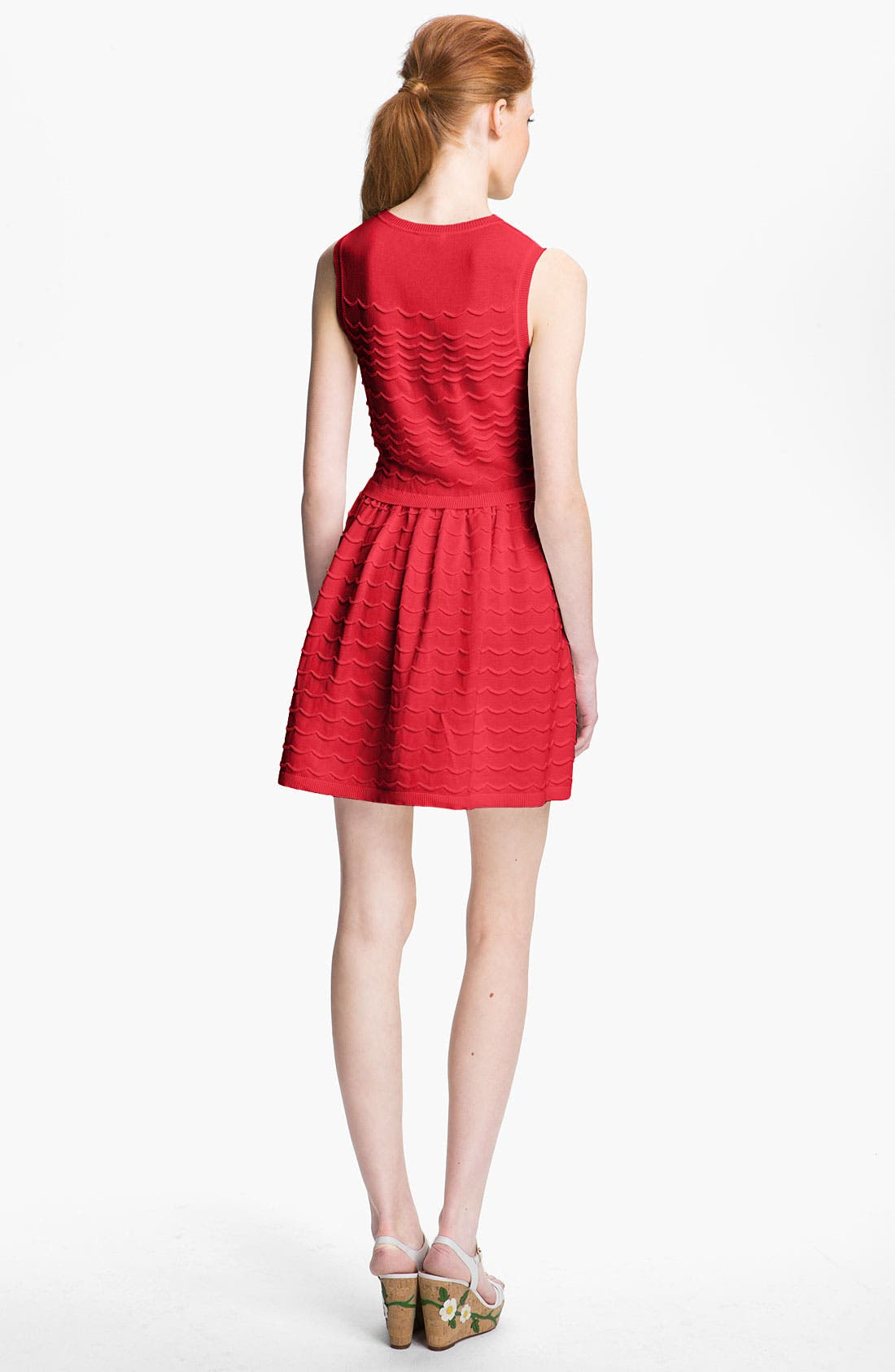 Alternate Image 2  - RED Valentino Cotton Yarn Dress