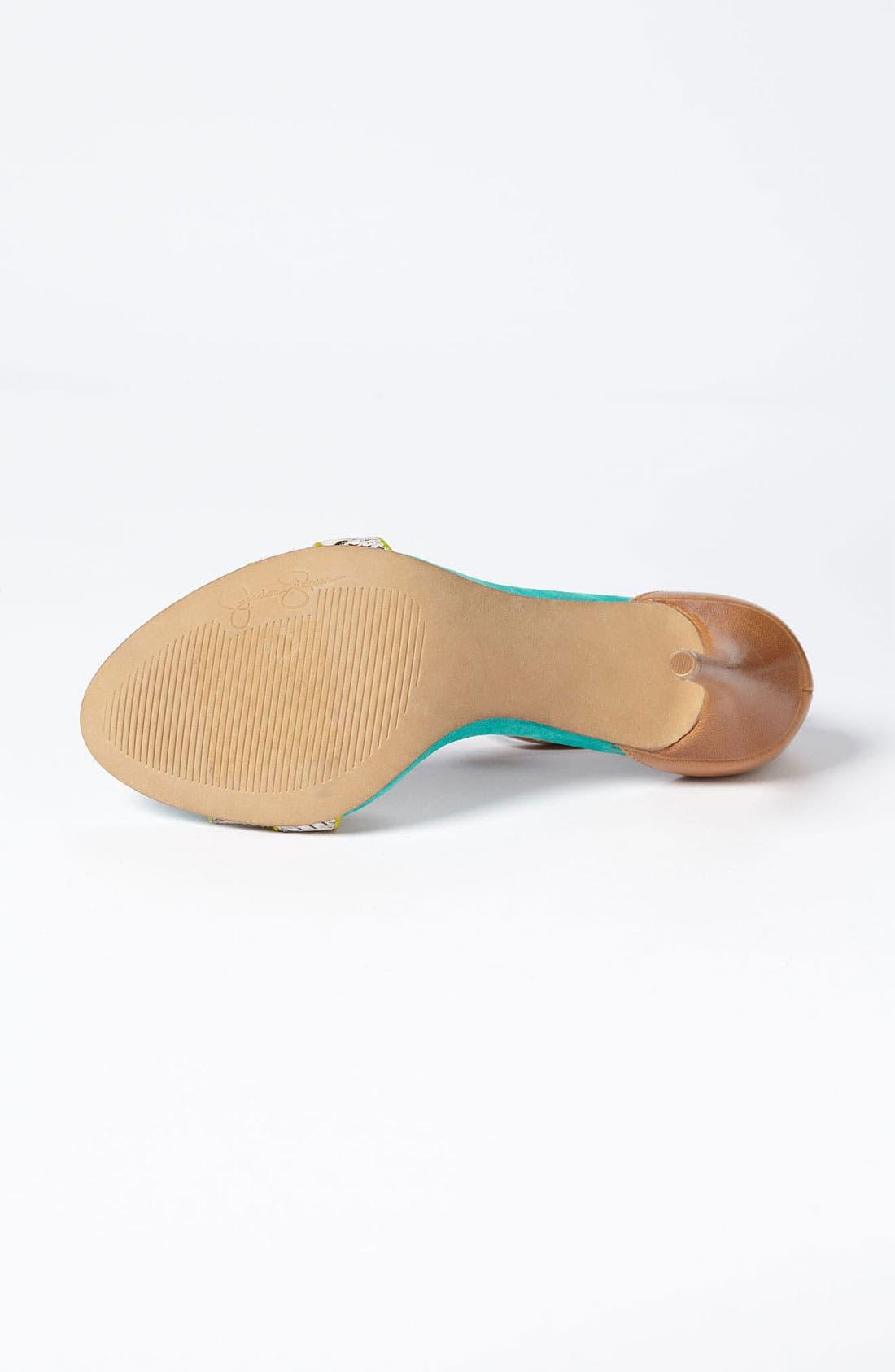 Alternate Image 4  - Jessica Simpson 'Jessies' Sandal