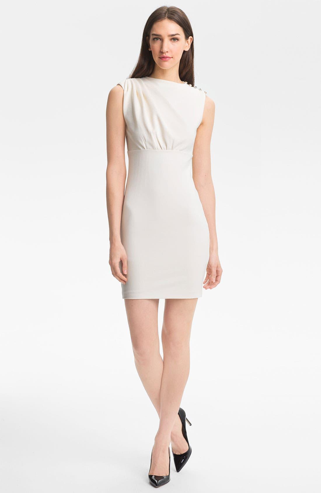 Alternate Image 1 Selected - Ted Baker London Stretch Sheath Dress
