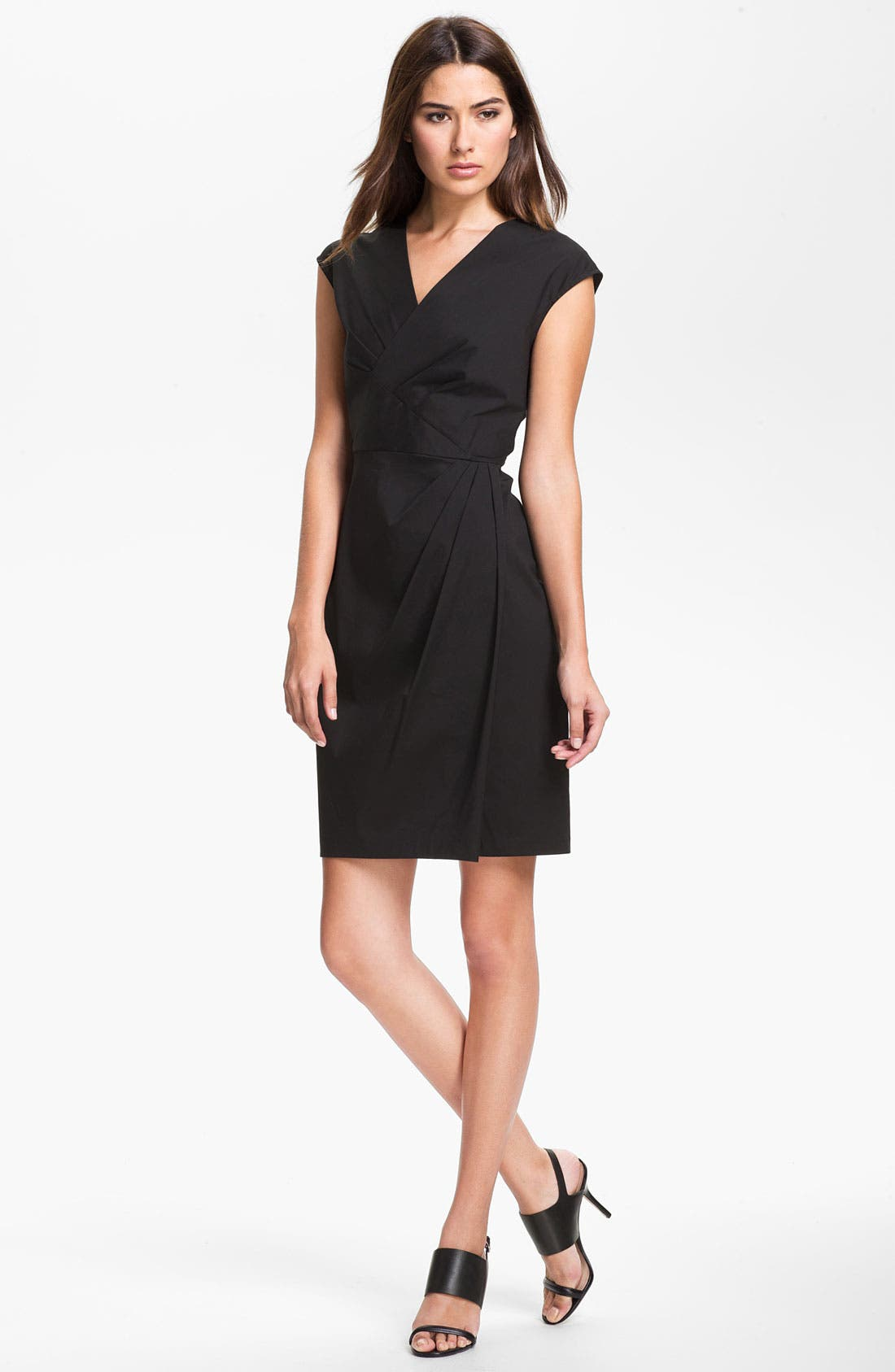 Main Image - Lafayette 148 New York 'Elsa - Italian' Stretch Dress (Online Exclusive)