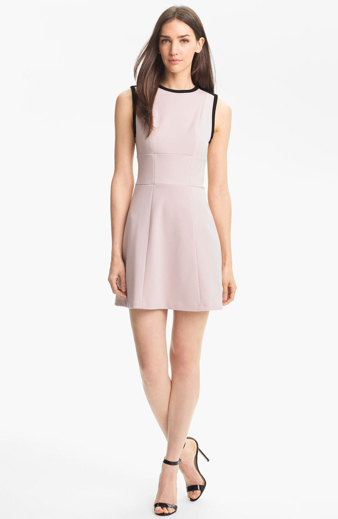 Alternate Image 1 Selected - Ted Baker London Stretch A-Line Dress (Online Only)