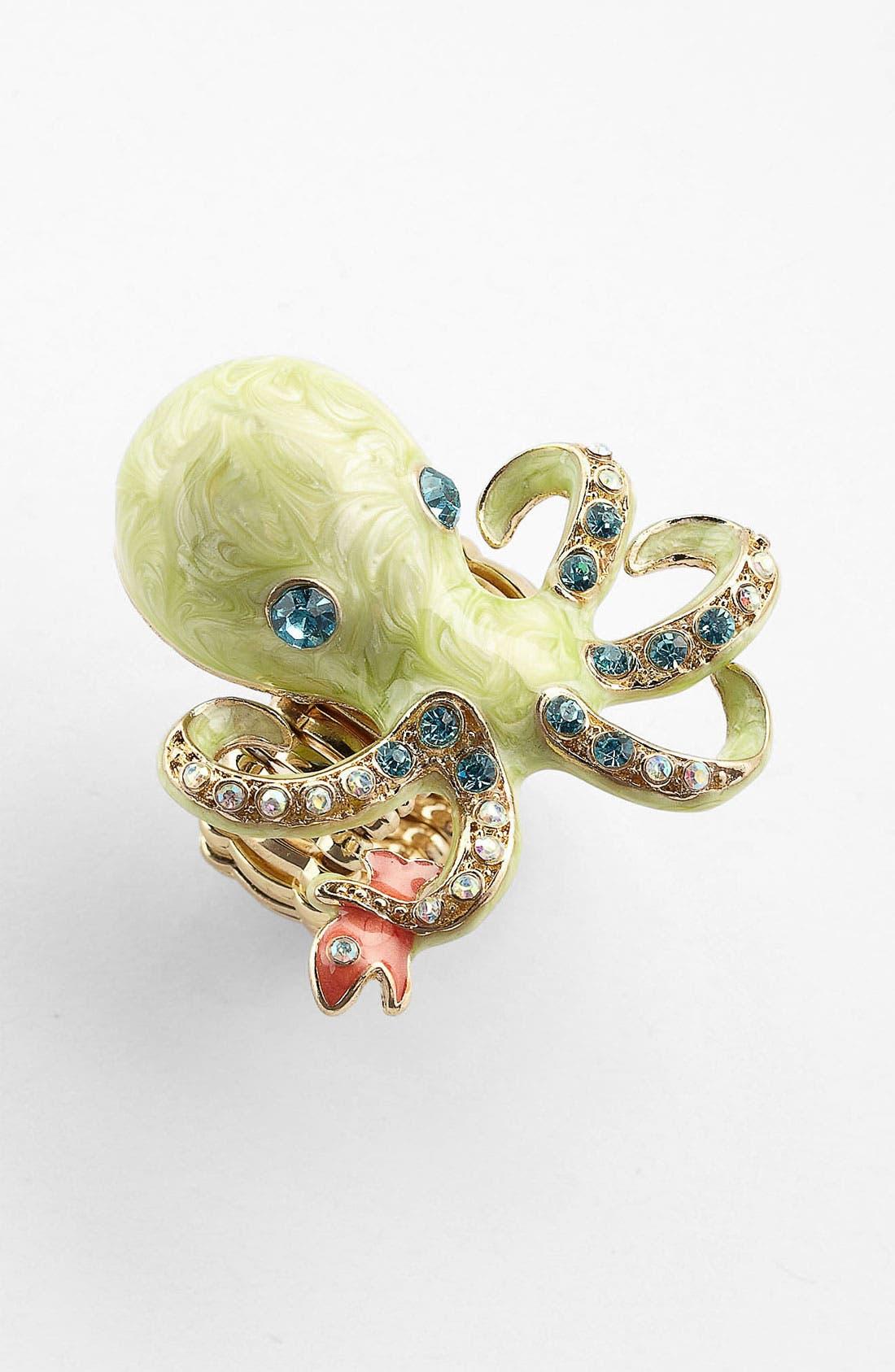 Main Image - Cara 'Under the Sea' Octopus Ring