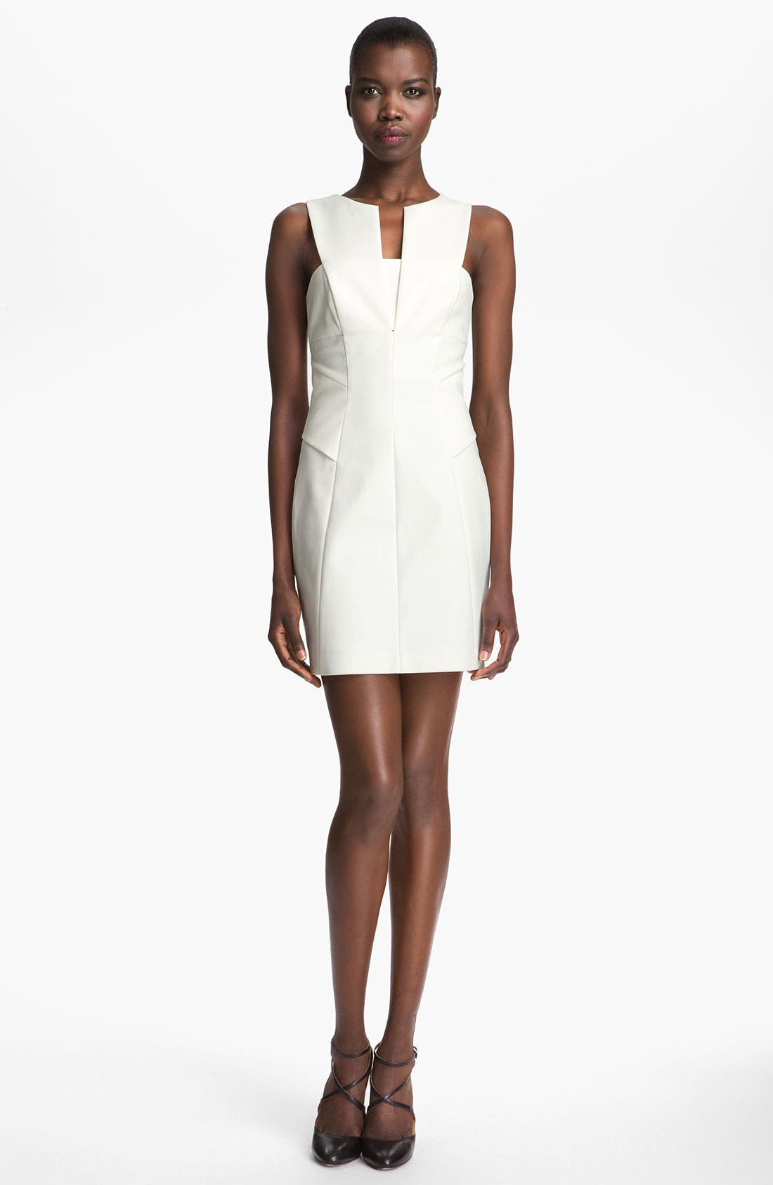 Alternate Image 1 Selected - Robert Rodriguez Stretch Cotton Dress