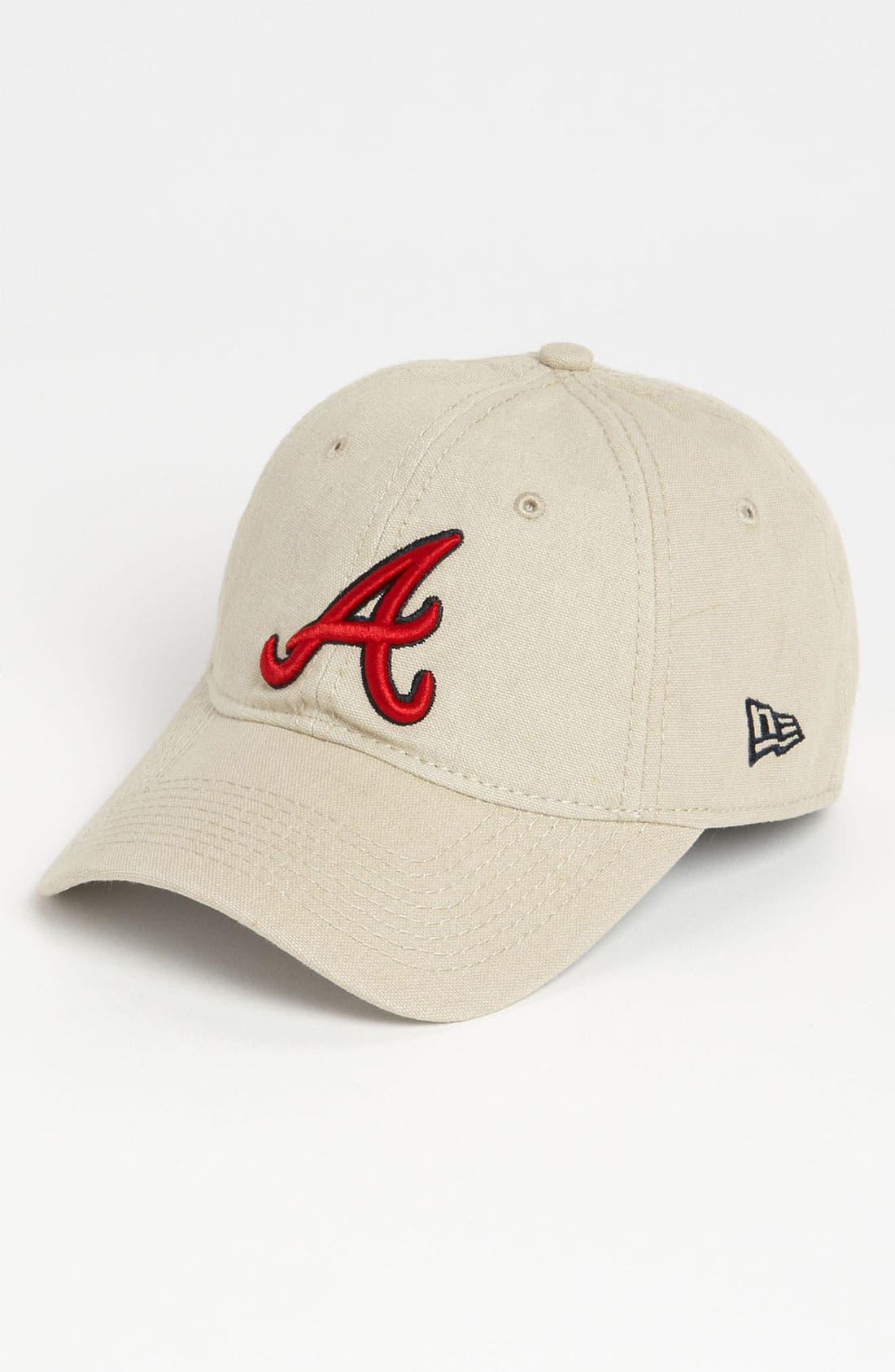 Alternate Image 1 Selected - New Era Cap 'Shoreline - Atlanta Braves' Baseball Cap